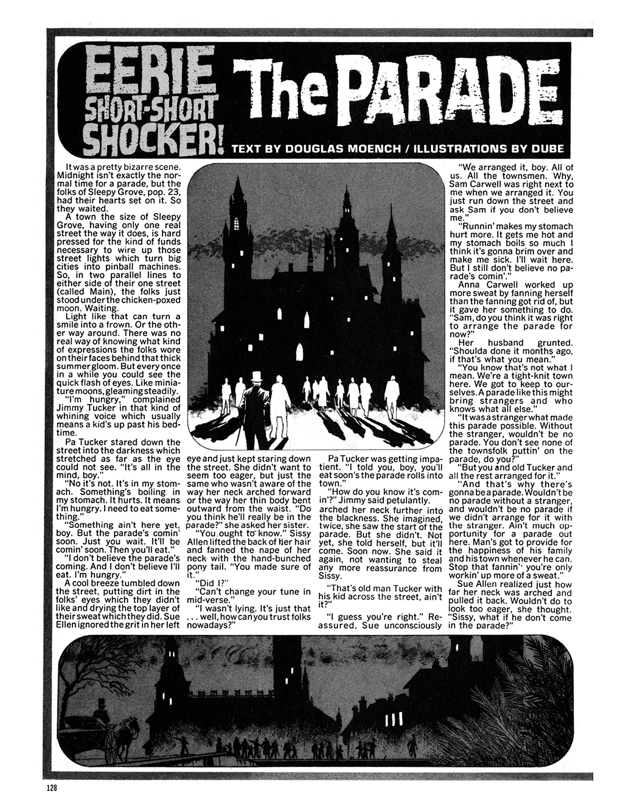 Read online Eerie Archives comic -  Issue # TPB 9 - 129