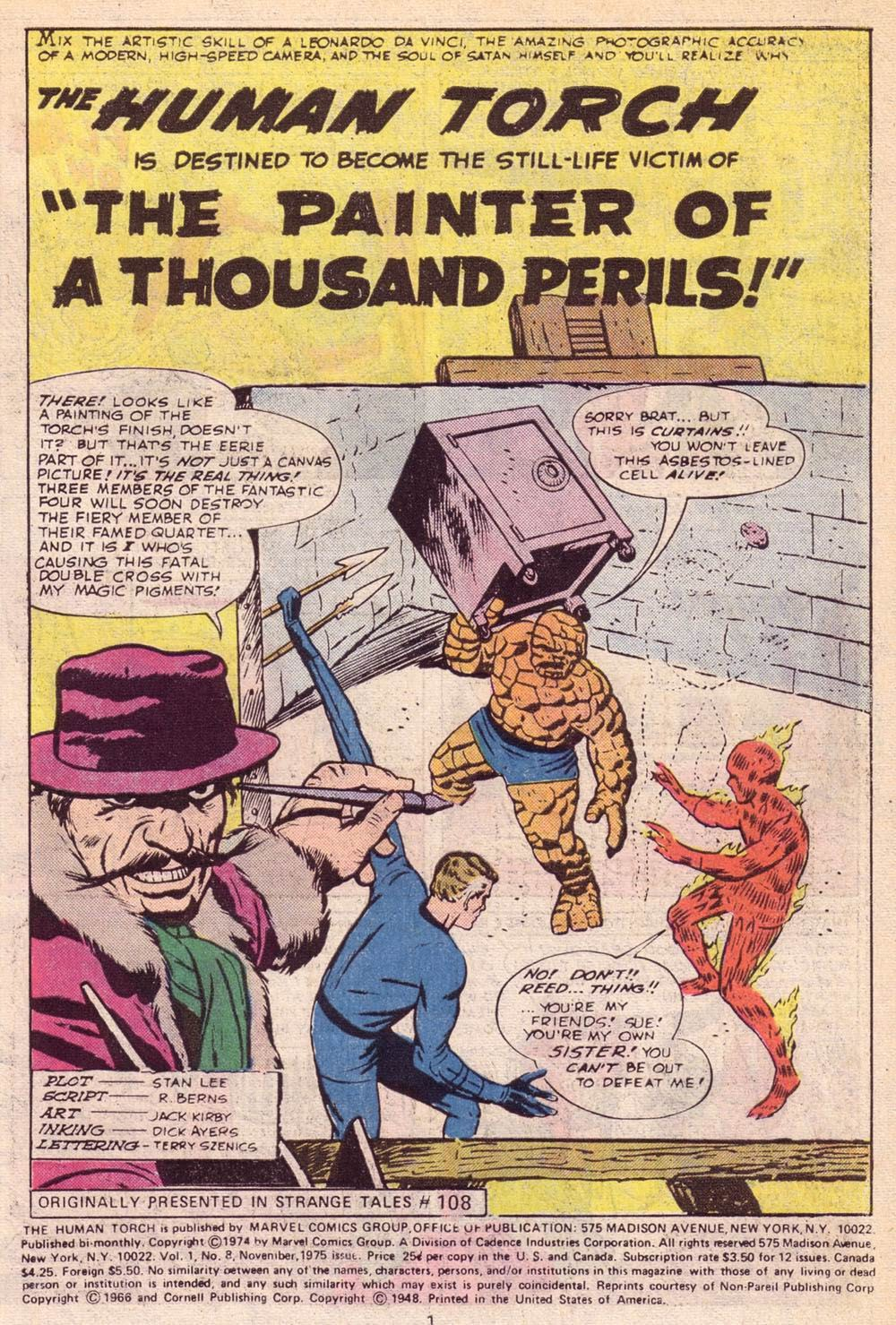The Human Torch (1974) 8 Page 2
