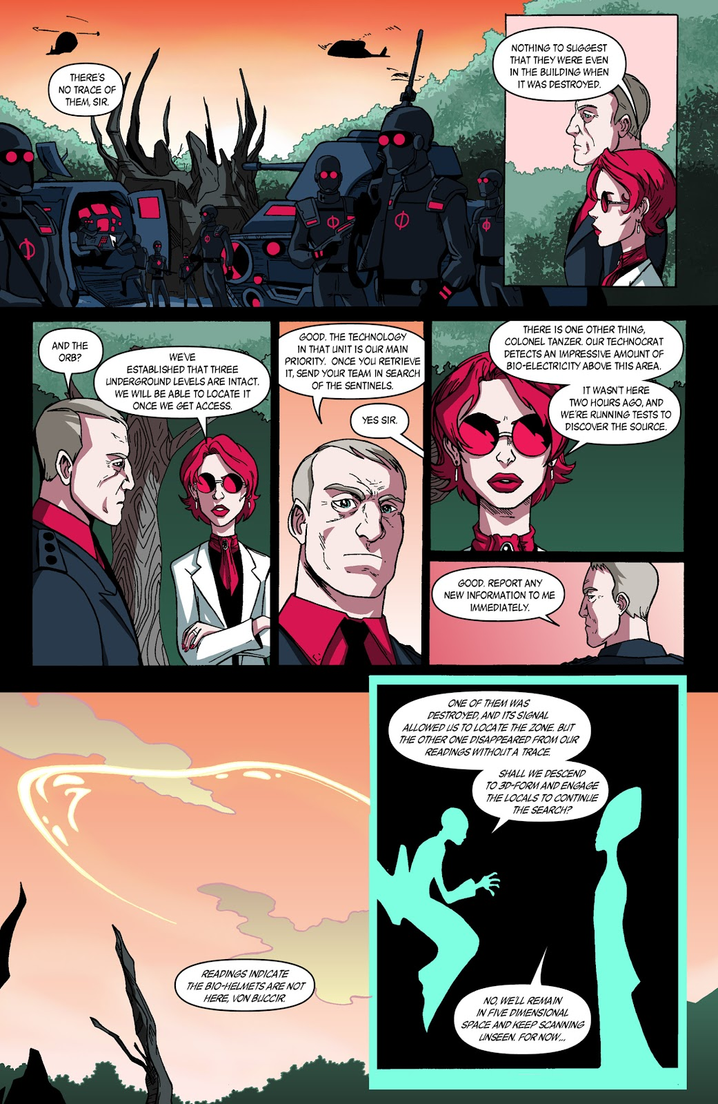 Sentinels issue 3 - Page 8
