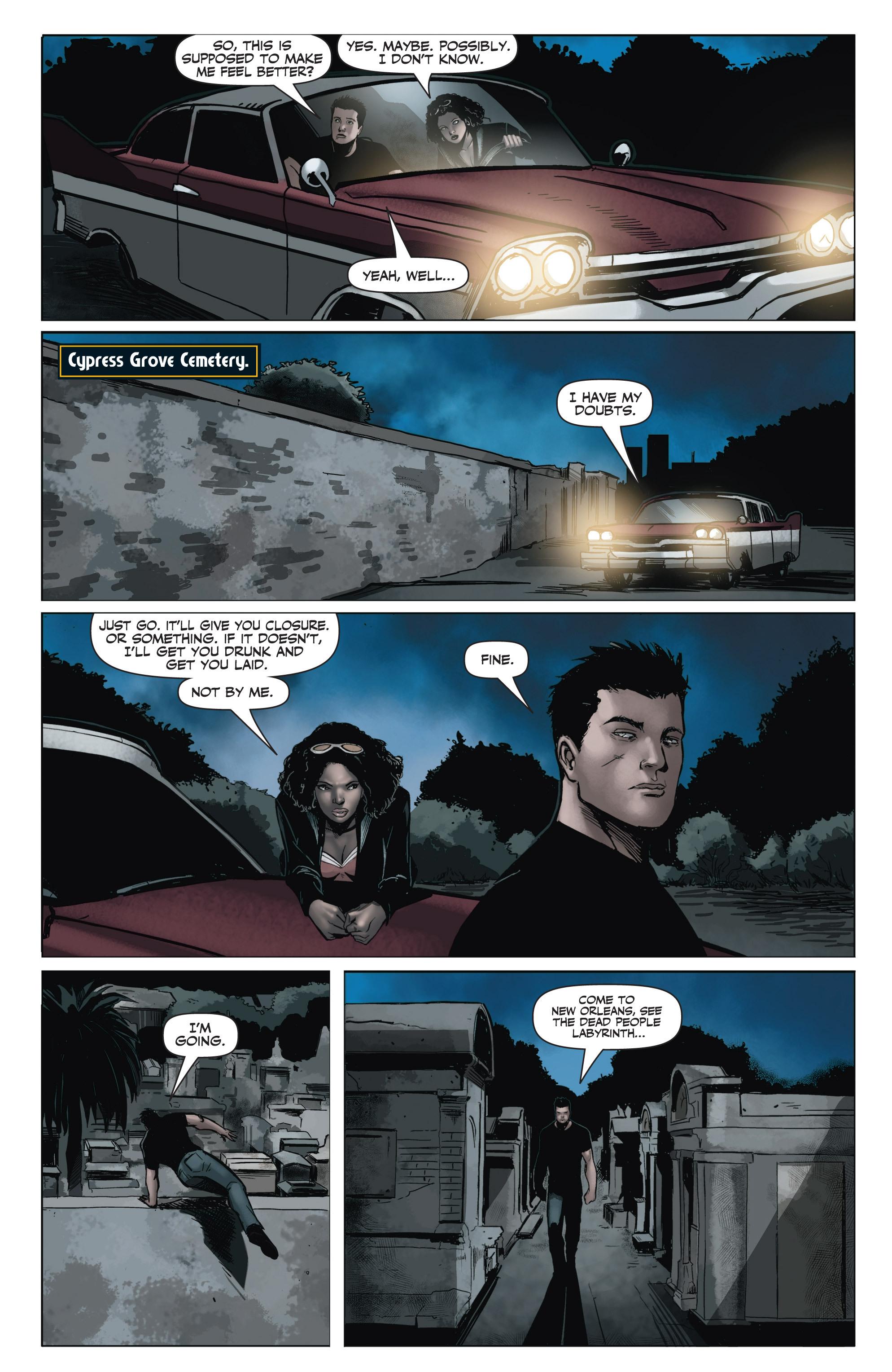 Read online Shadowman (2012) comic -  Issue #6 - 15