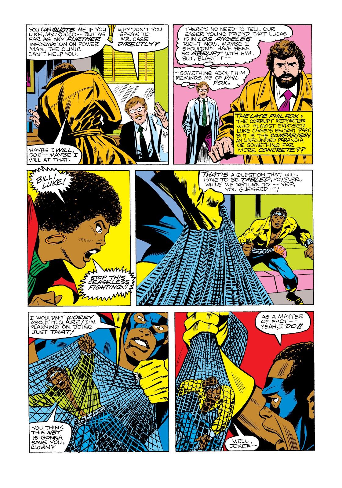 Read online Marvel Masterworks: Luke Cage, Power Man comic -  Issue # TPB 2 (Part 2) - 57