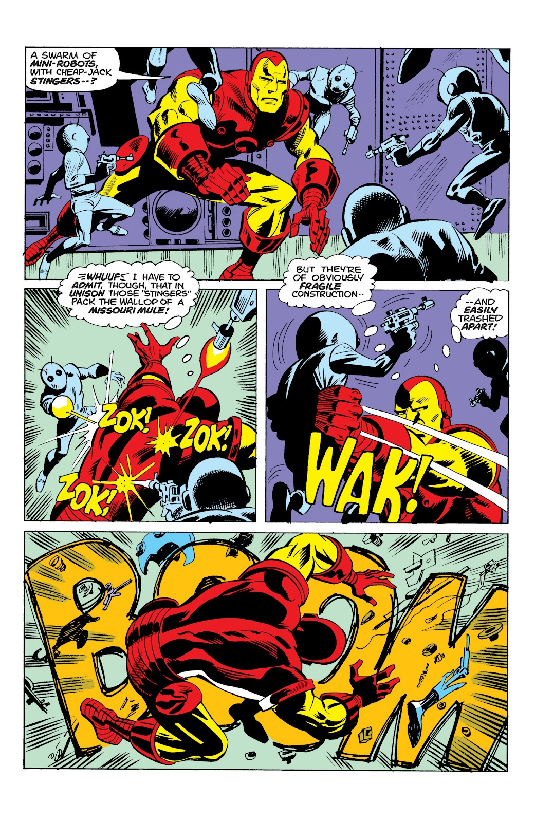 Read online Marvel Masterworks: The Invincible Iron Man comic -  Issue # TPB 10 (Part 1) - 70