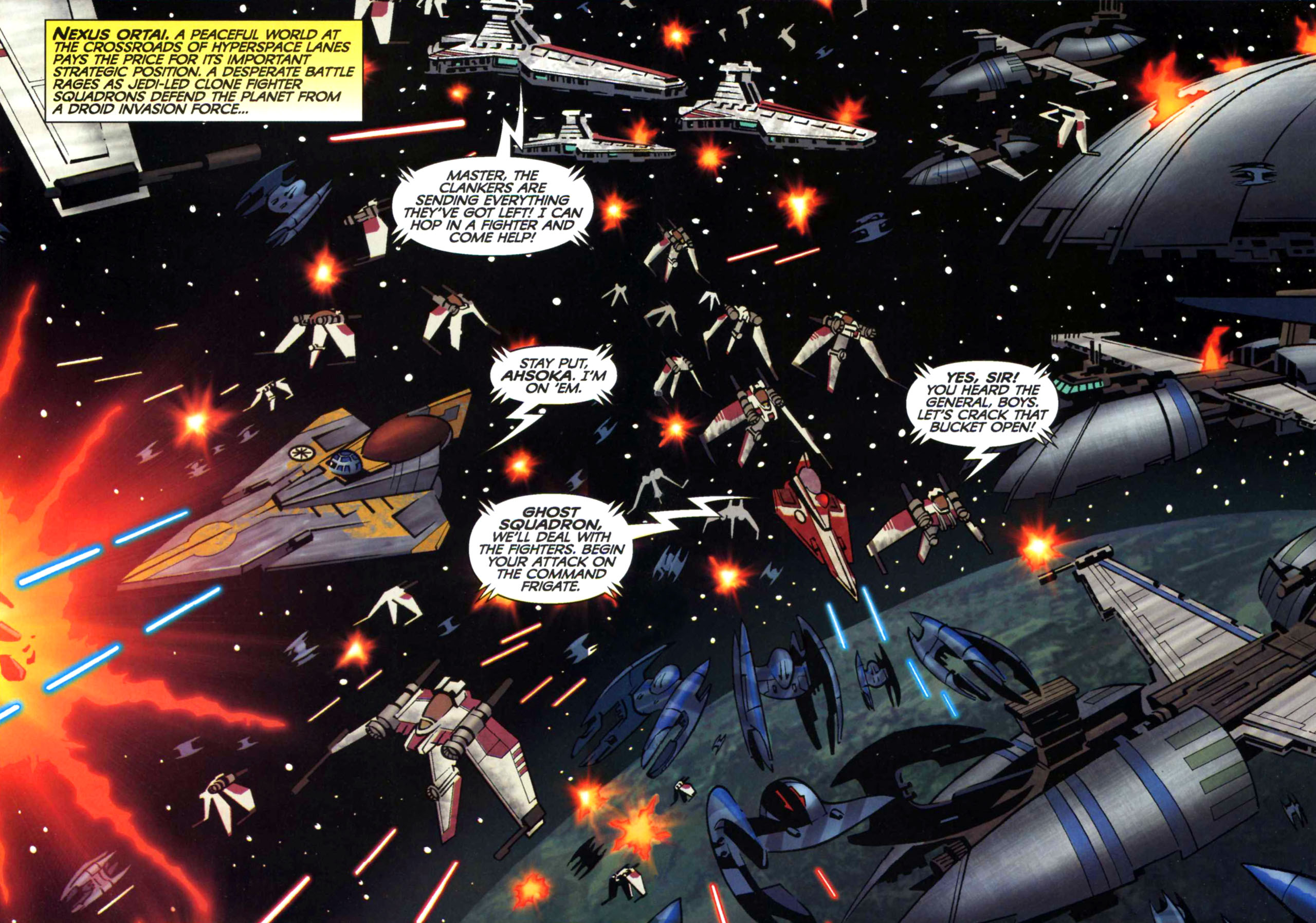 Read online Star Wars: The Clone Wars - Shipyards of Doom comic -  Issue # Full - 6