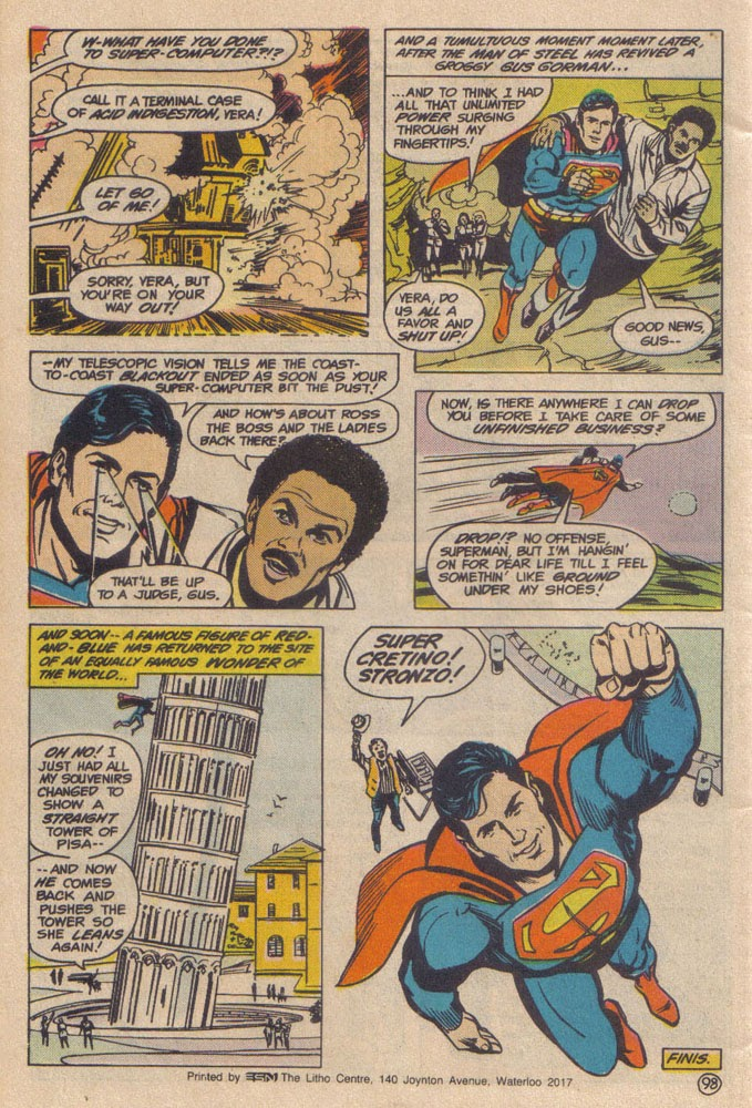 Read online Superman III comic -  Issue # Full - 50
