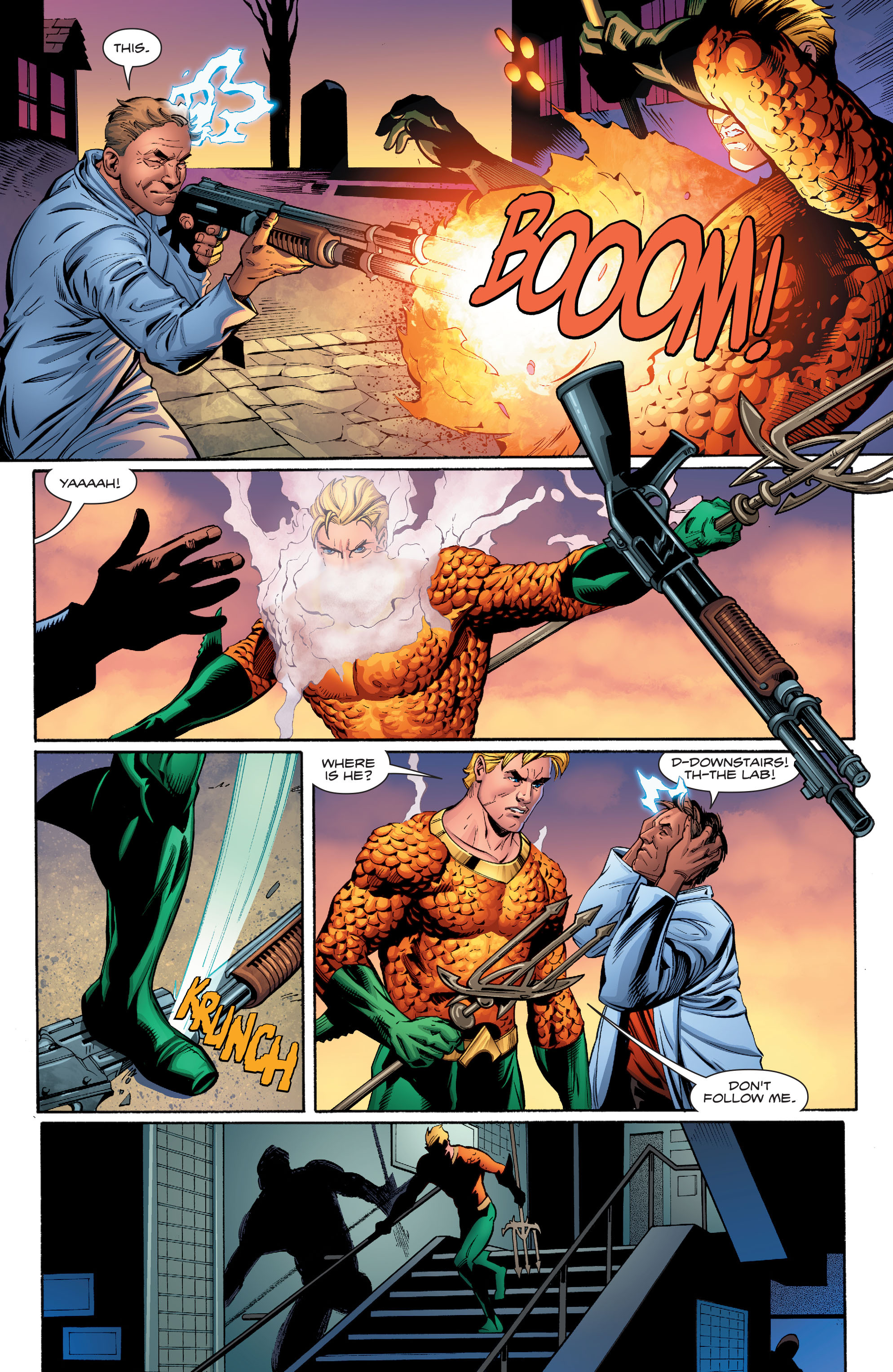 Read online Aquaman (2016) comic -  Issue #17 - 18