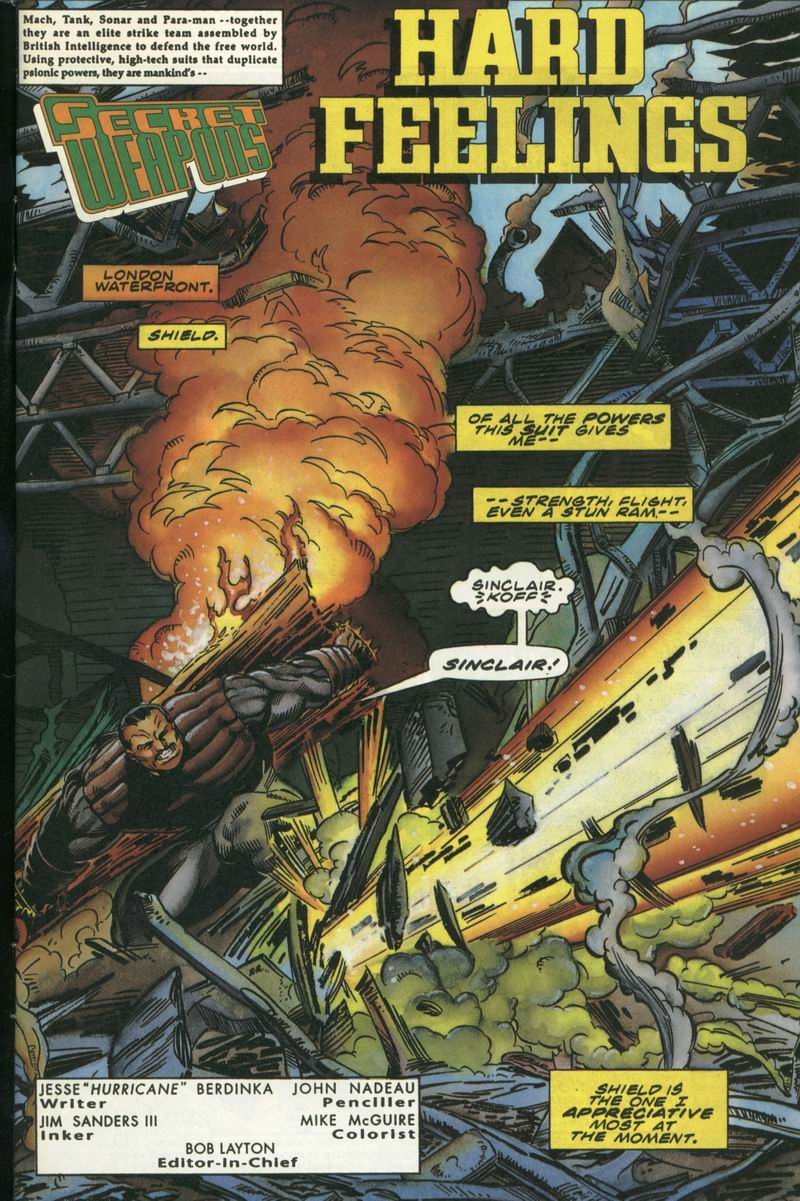Read online Secret Weapons comic -  Issue #16 - 2