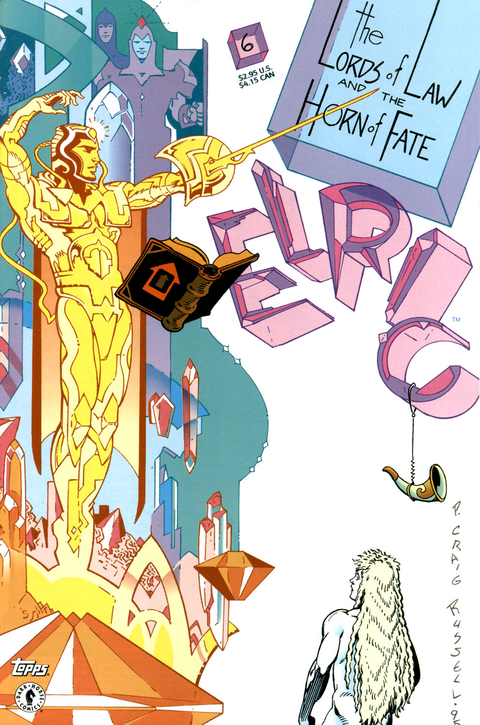 Read online Elric: Stormbringer comic -  Issue #6 - 1