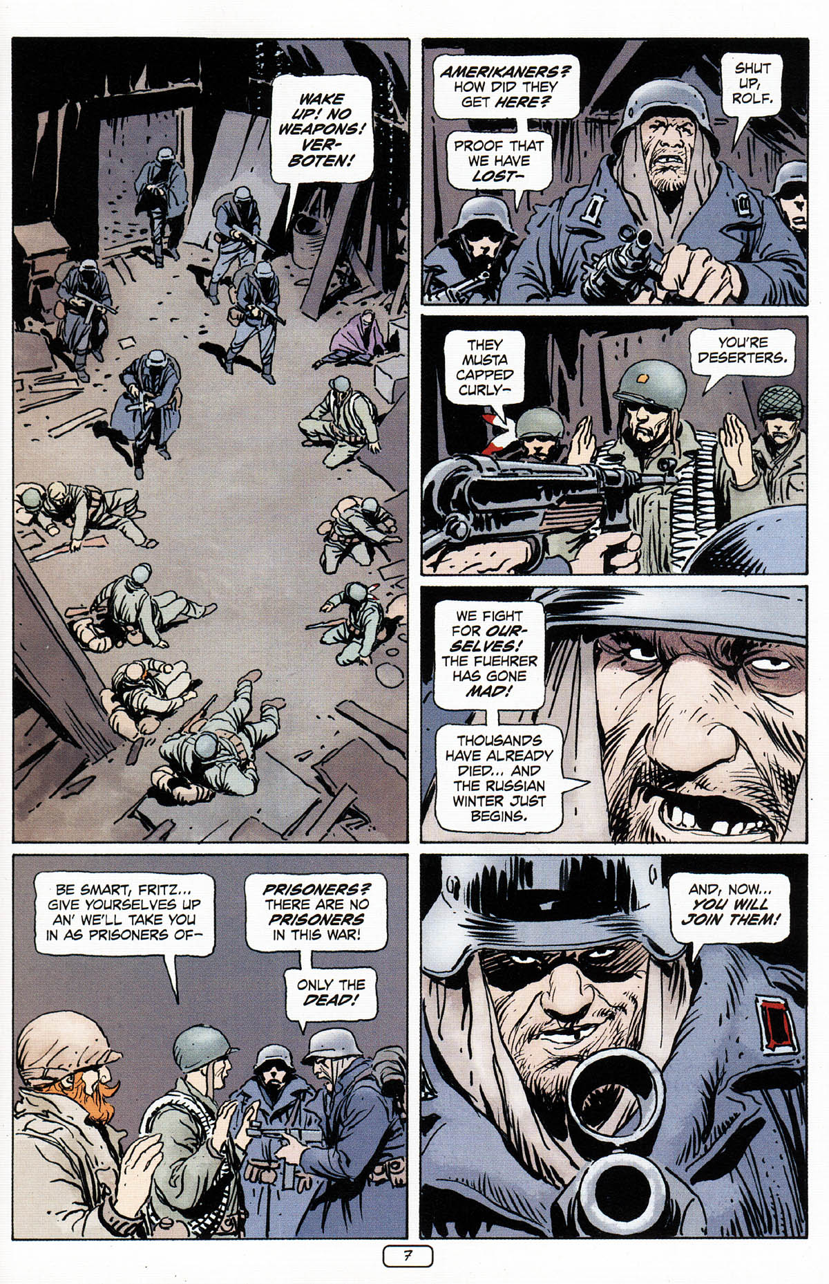 Read online Sgt. Rock: The Prophecy comic -  Issue #3 - 8