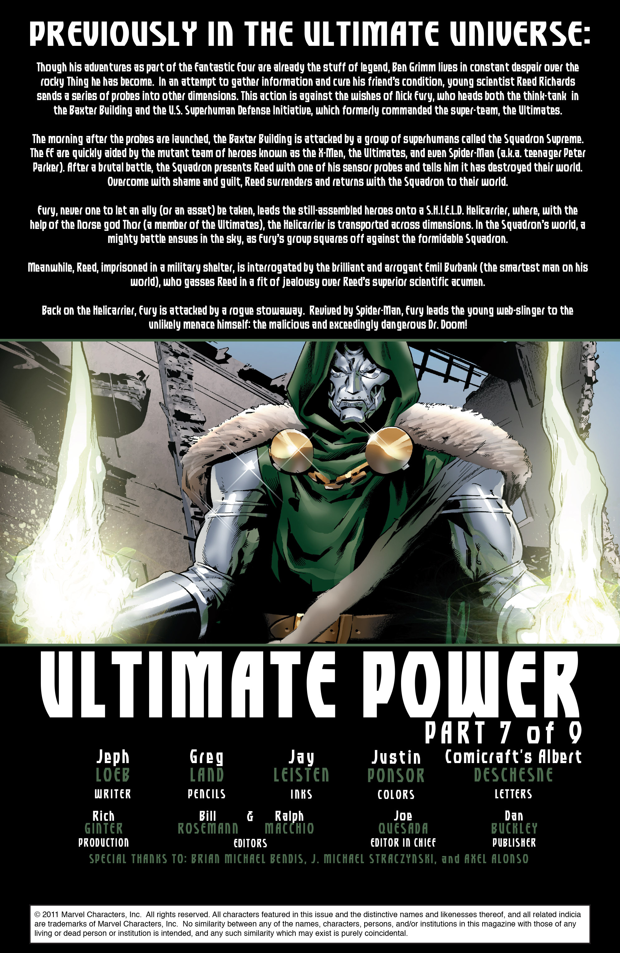 Read online Ultimate Power comic -  Issue #7 - 2