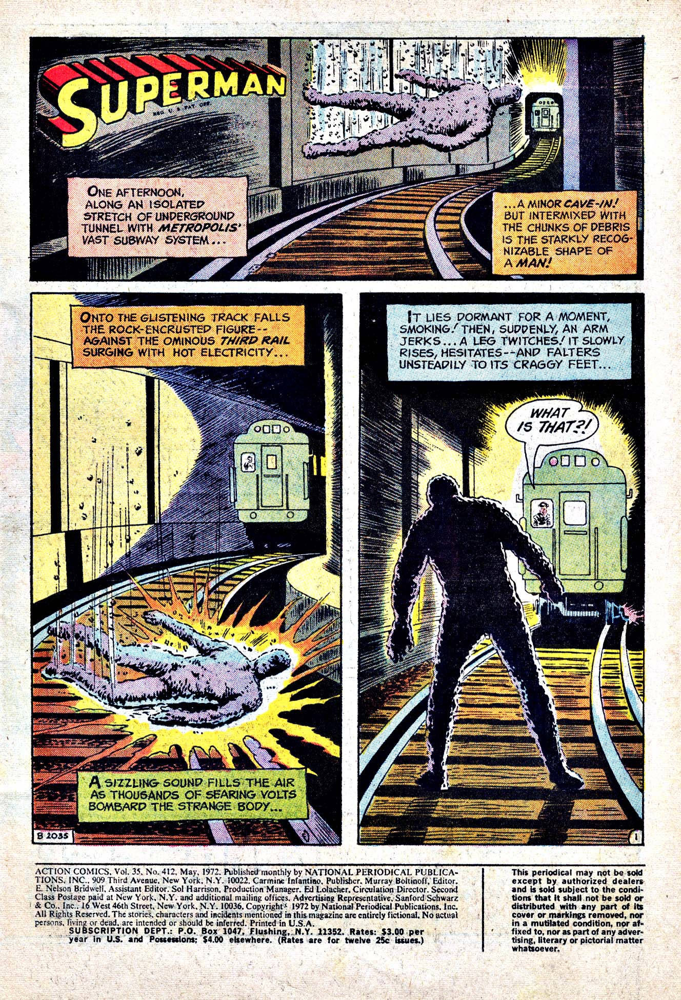 Action Comics (1938) 412 Page 2