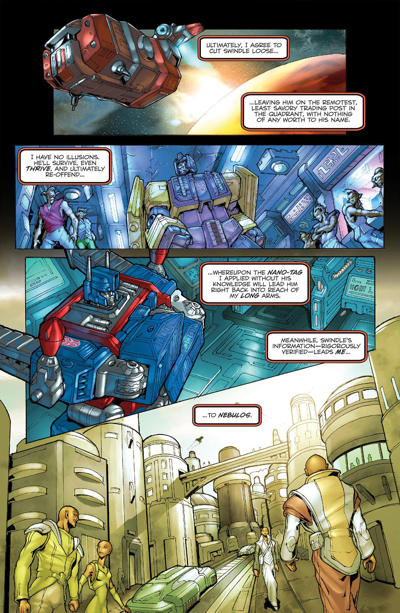 Read online Transformers Spotlight: Ultra Magnus comic -  Issue # Full - 12