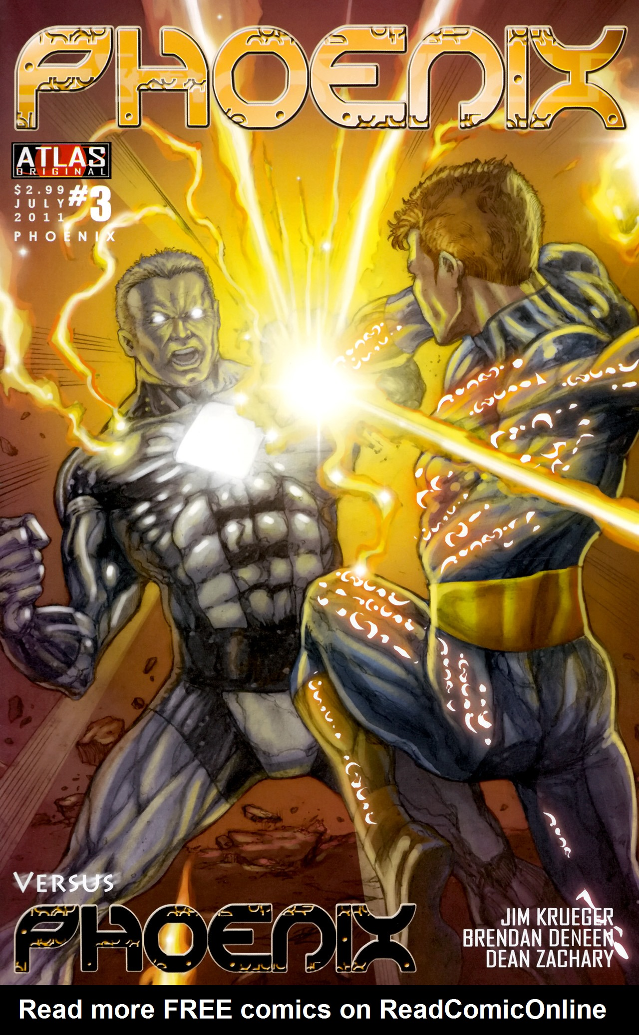 Read online Phoenix comic -  Issue #3 - 1