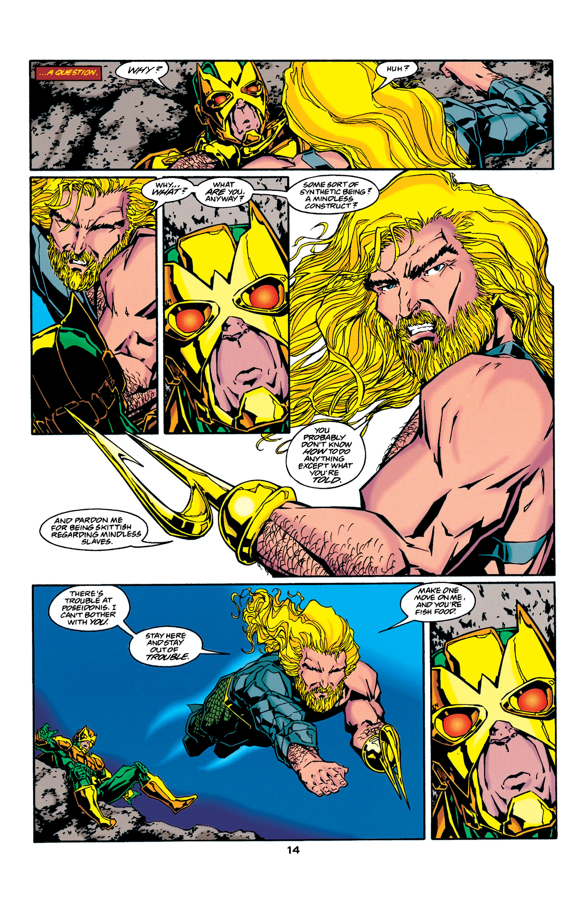 Read online Aquaman (1994) comic -  Issue #37 - 14