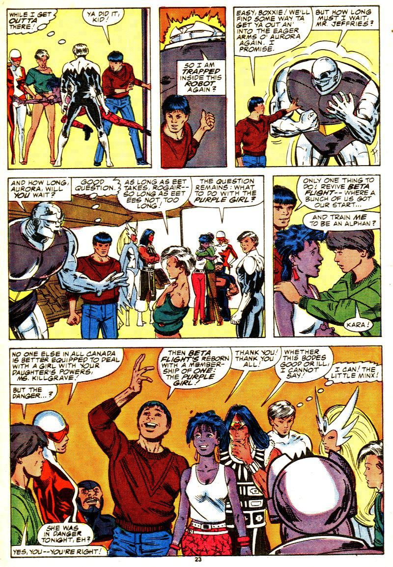 Read online Alpha Flight (1983) comic -  Issue #42 - 25