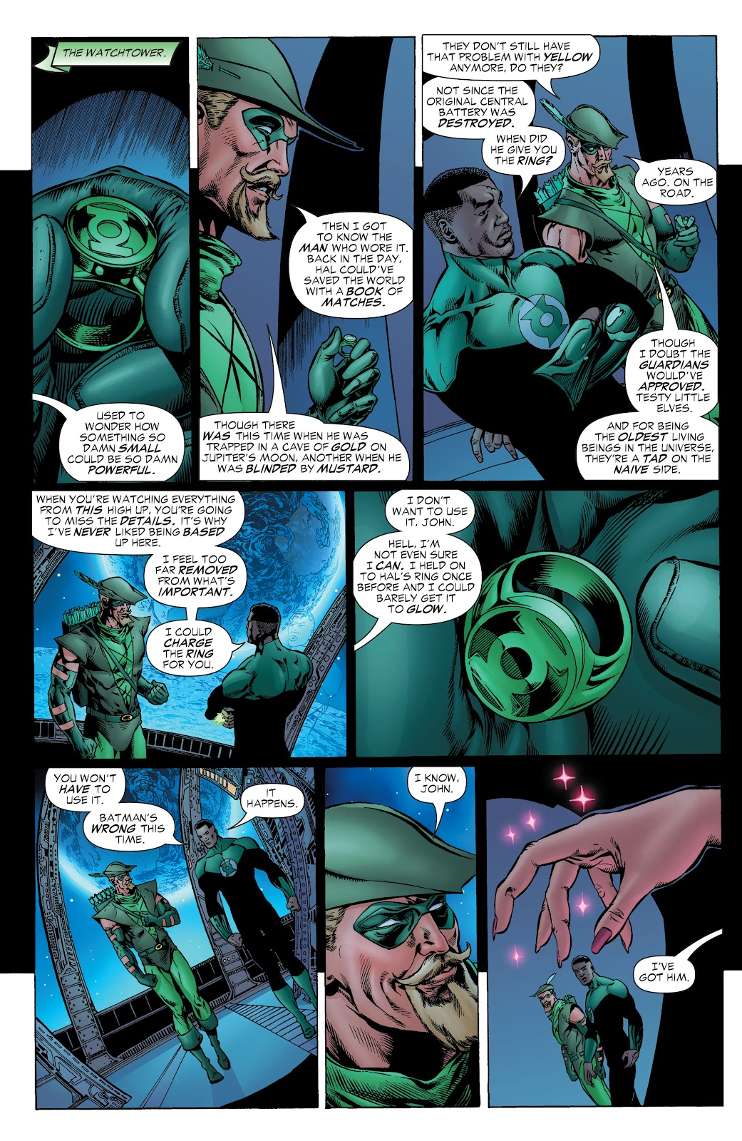 Read online Green Lantern by Geoff Johns comic -  Issue # TPB 1 (Part 1) - 51