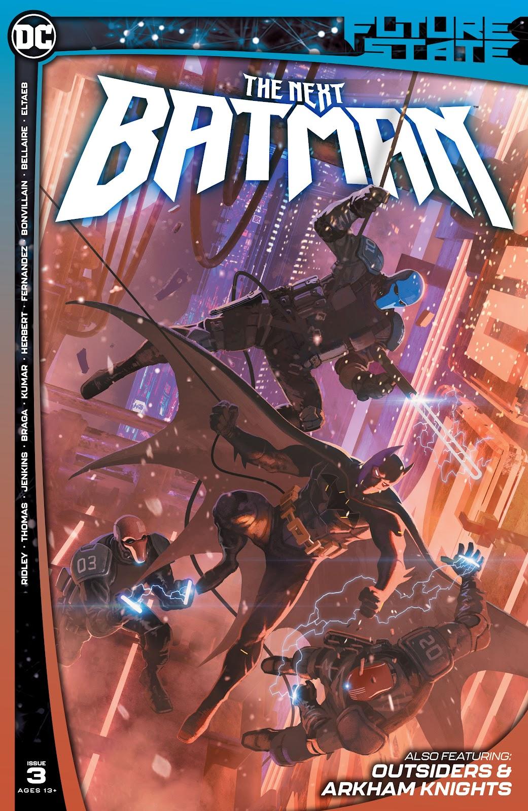 Future State: The Next Batman 3 Page 1