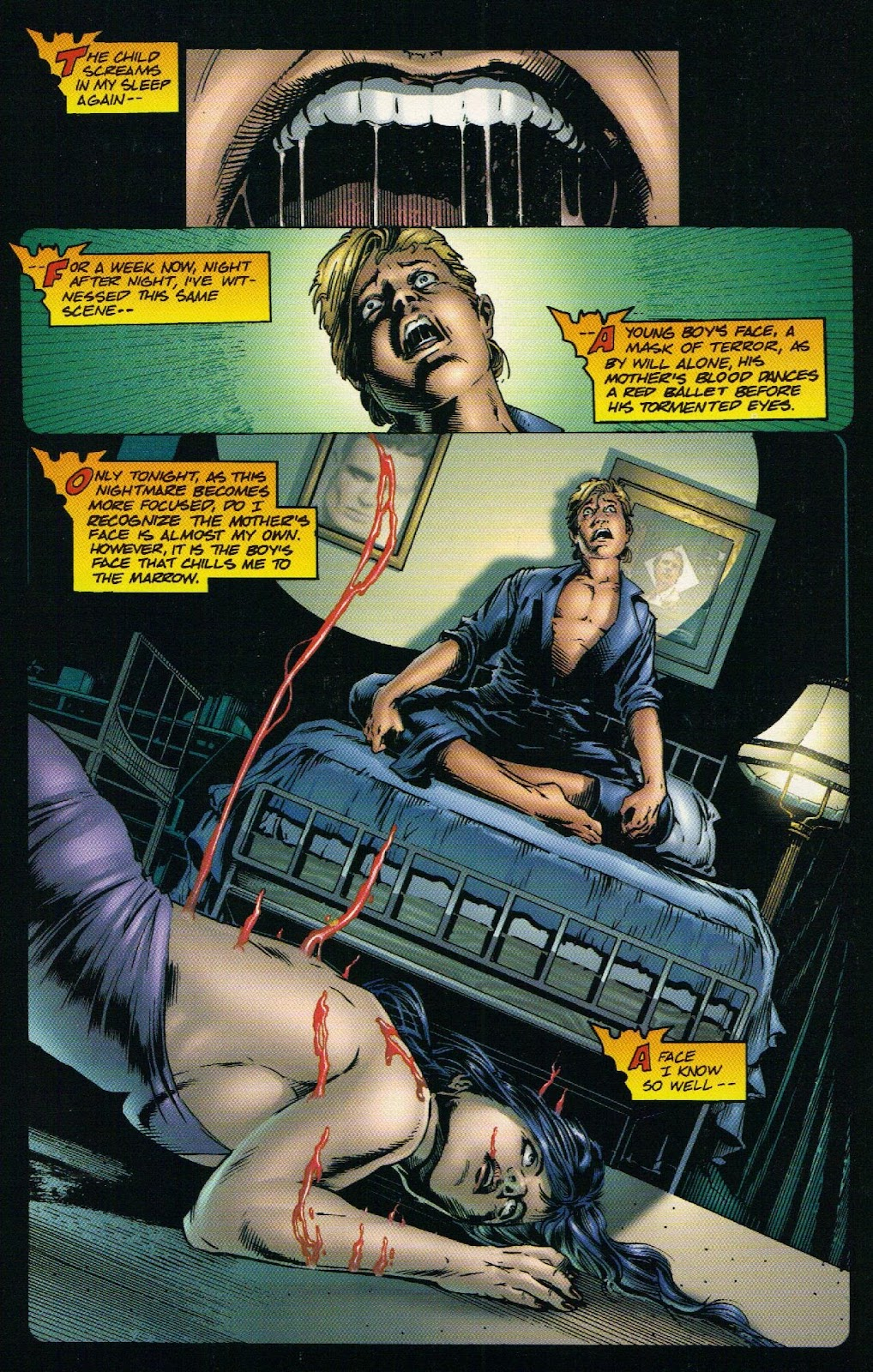 Vampirella vs Hemorrhage issue 1 - Page 6