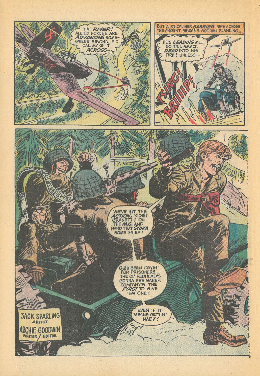 Read online Star Spangled War Stories (1952) comic -  Issue #168 - 4