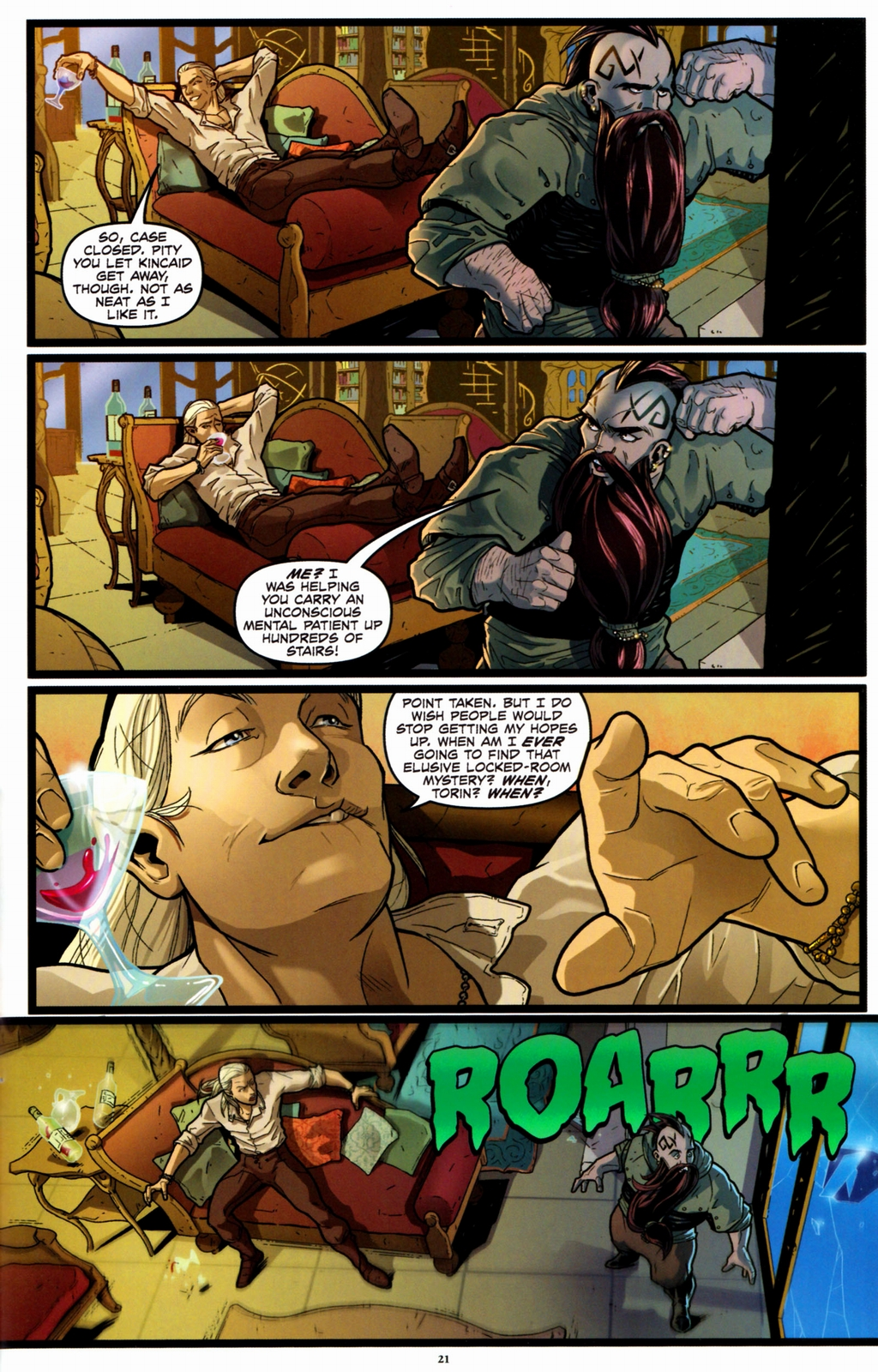 Read online Infestation 2: Dungeons & Dragons comic -  Issue #1 - 24