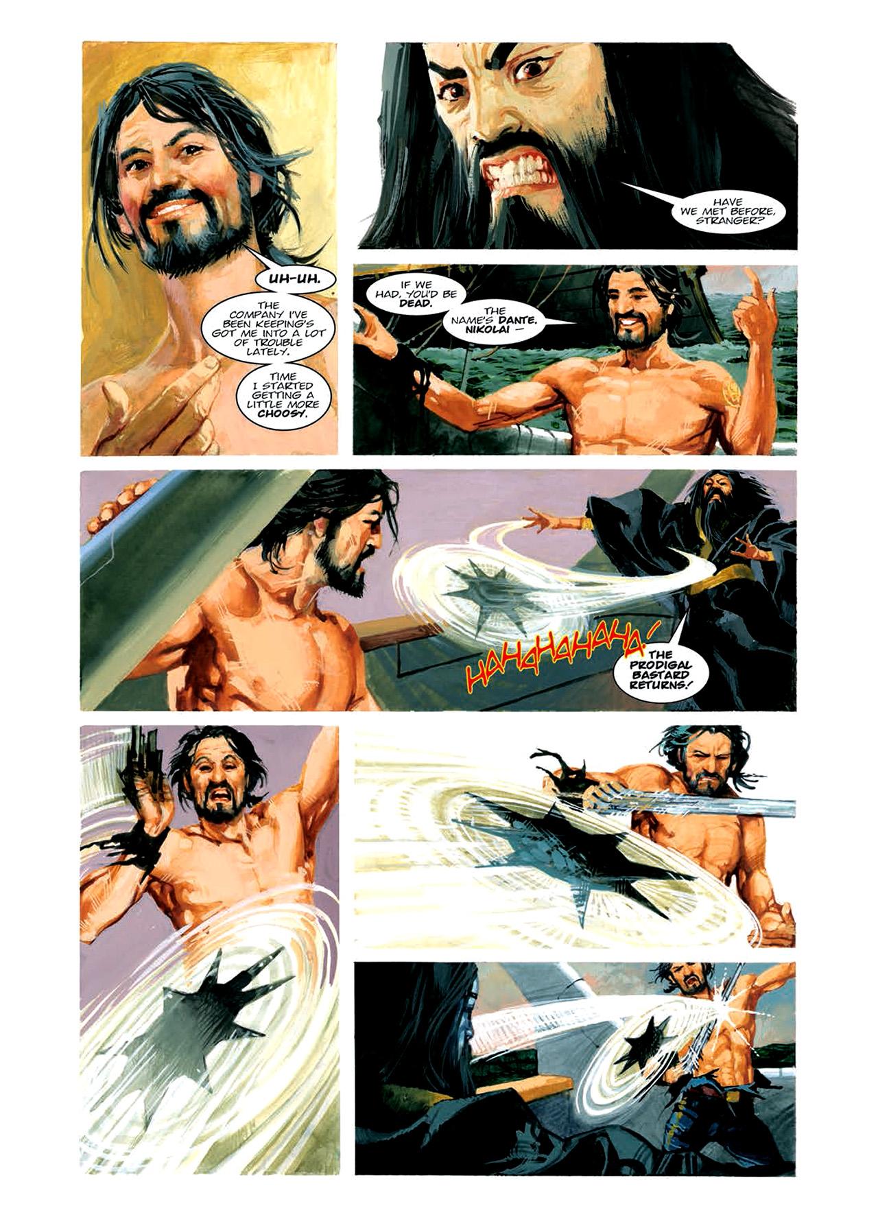 Read online Nikolai Dante comic -  Issue # TPB 6 - 102