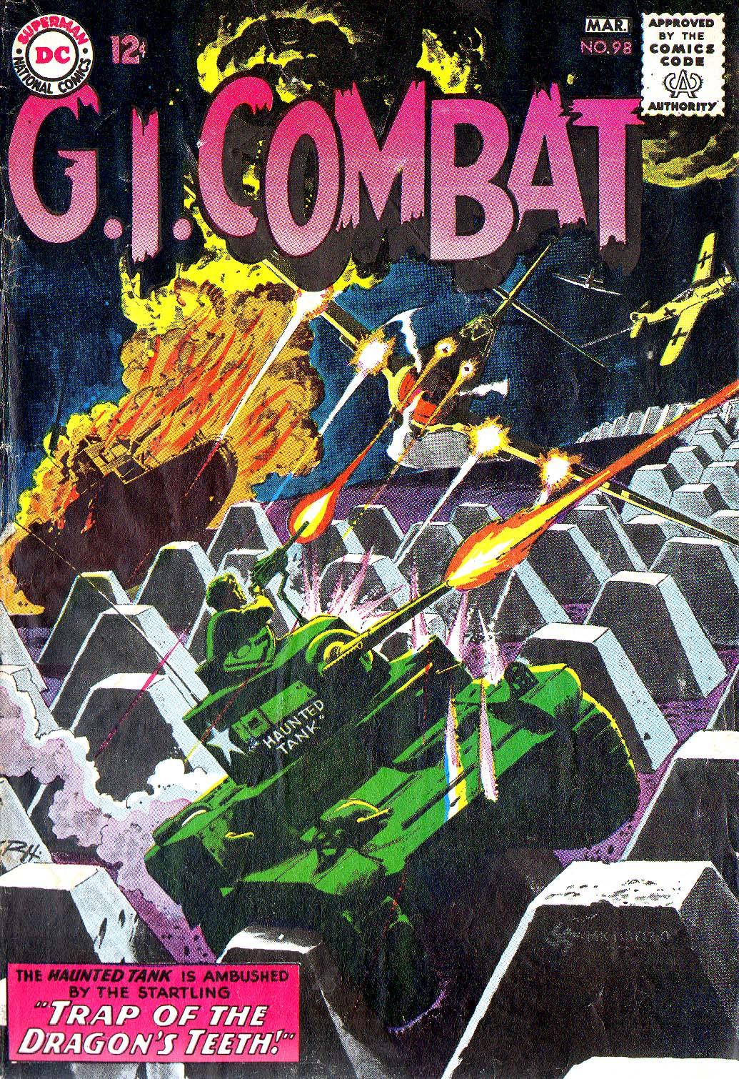 G.I. Combat (1952) 98 Page 1
