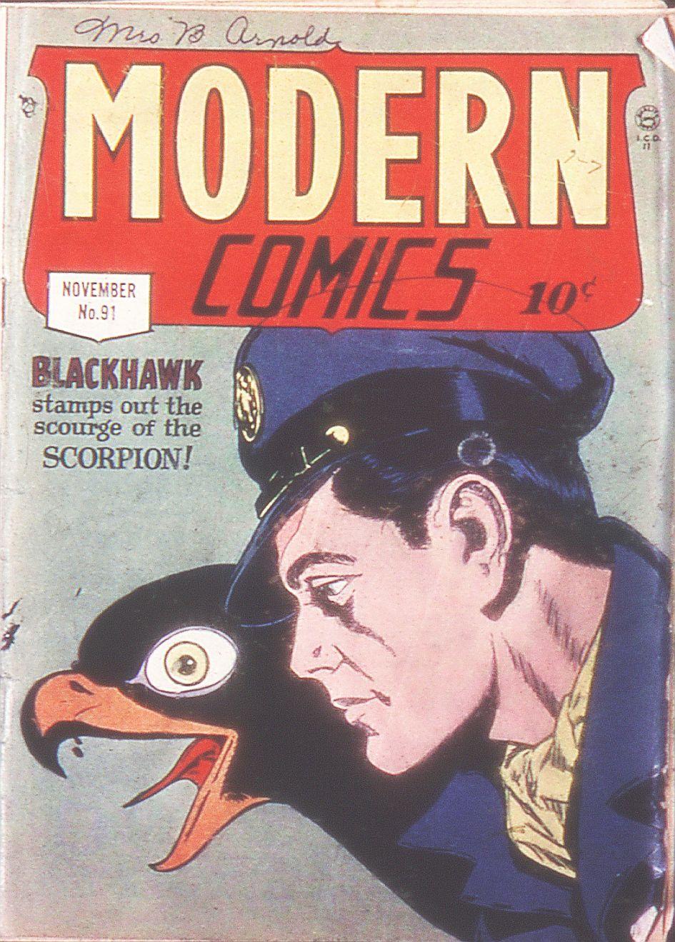 Modern Comics 91 Page 1