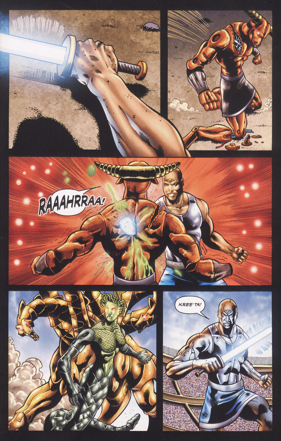Read online Stargate SG-1: Fall of Rome comic -  Issue #3 - 5