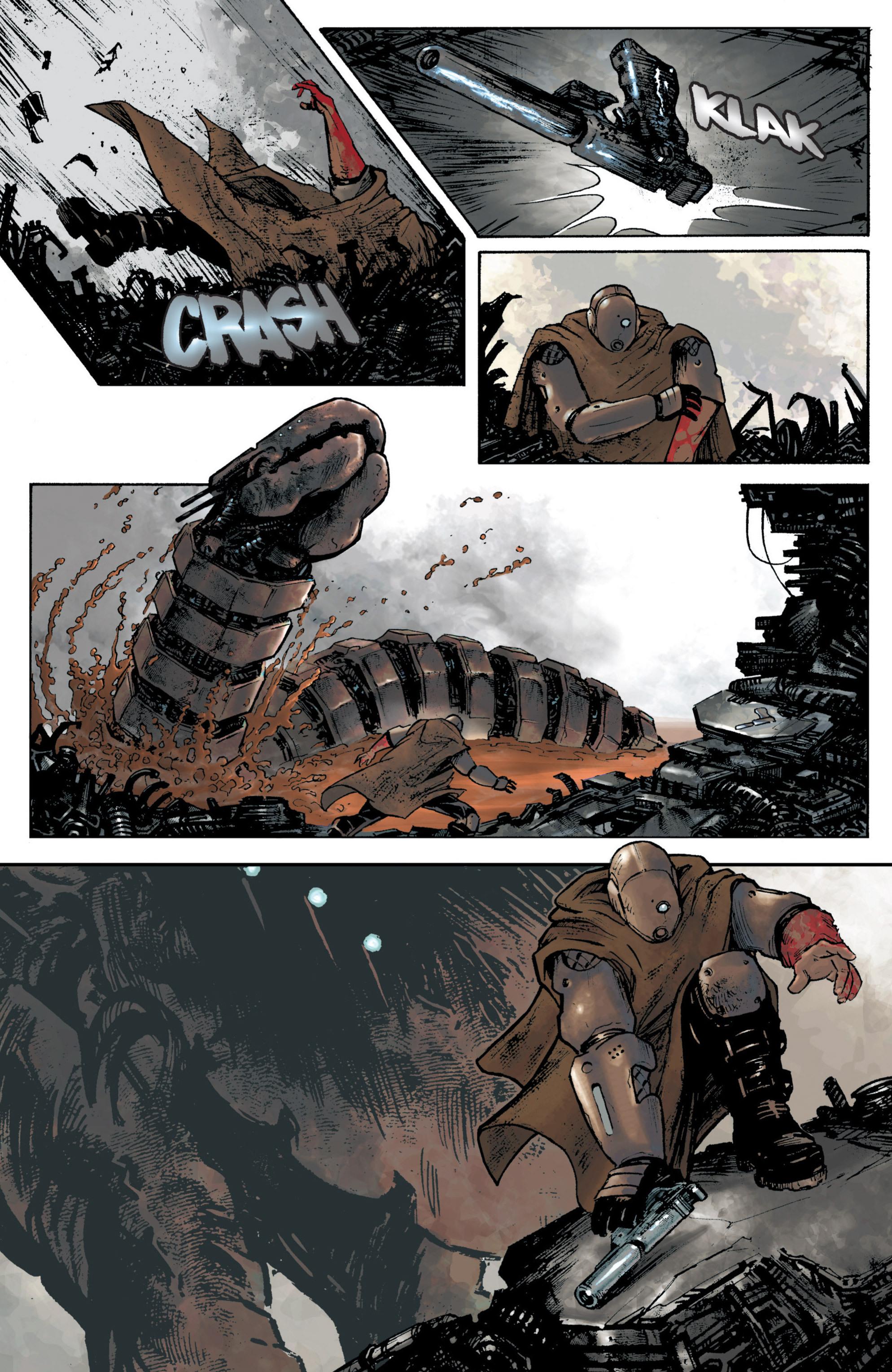 Read online Planetoid comic -  Issue # TPB - 25
