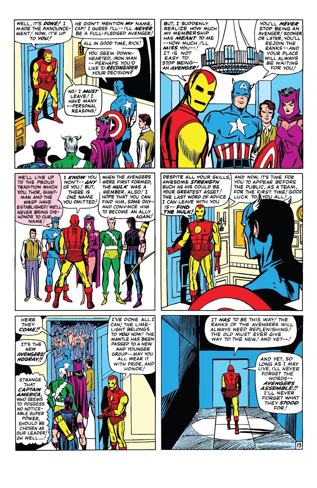 Read online Marvel Tales: Avengers comic -  Issue # Full - 24
