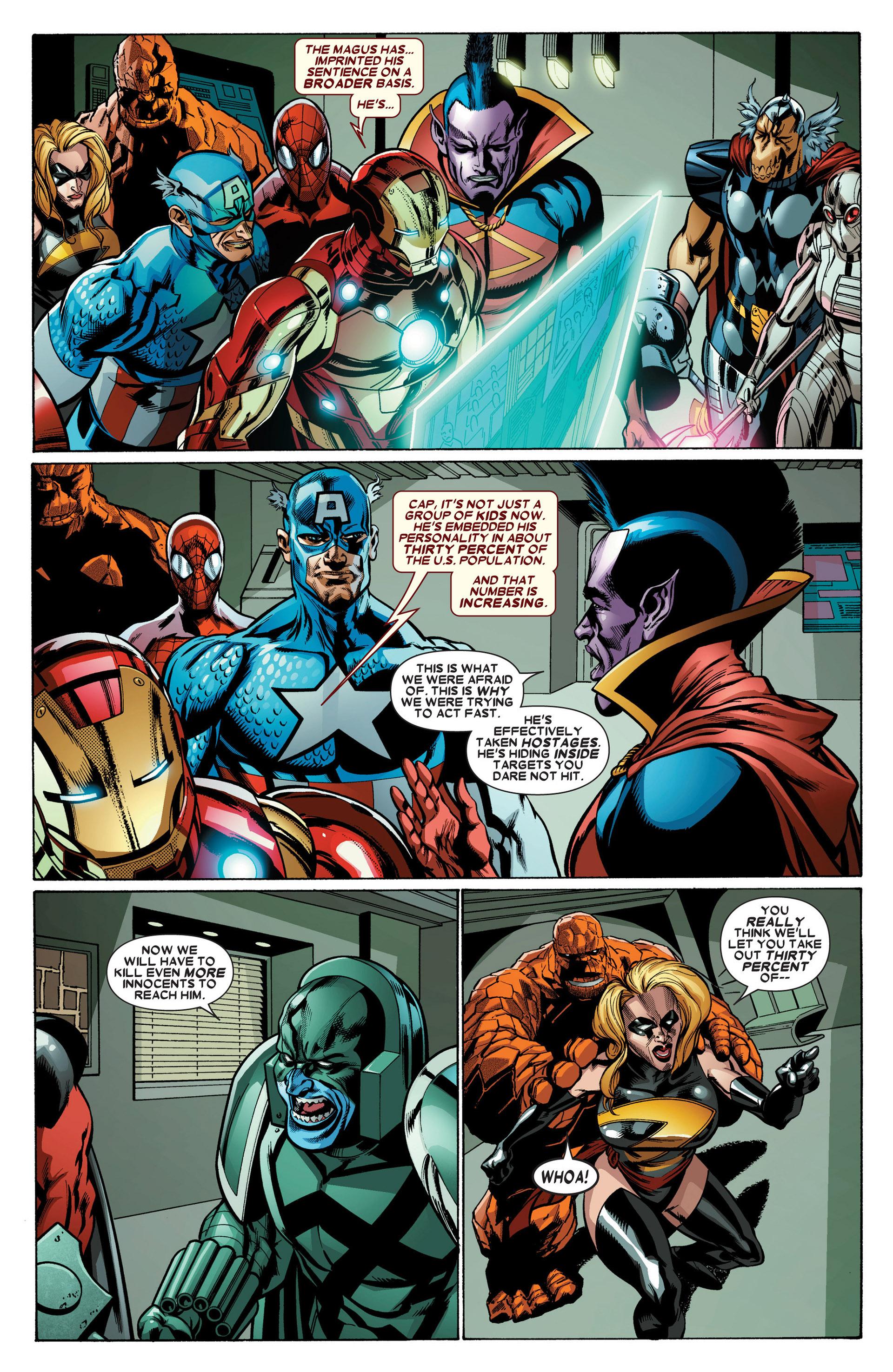 Read online Annihilators: Earthfall comic -  Issue #3 - 11