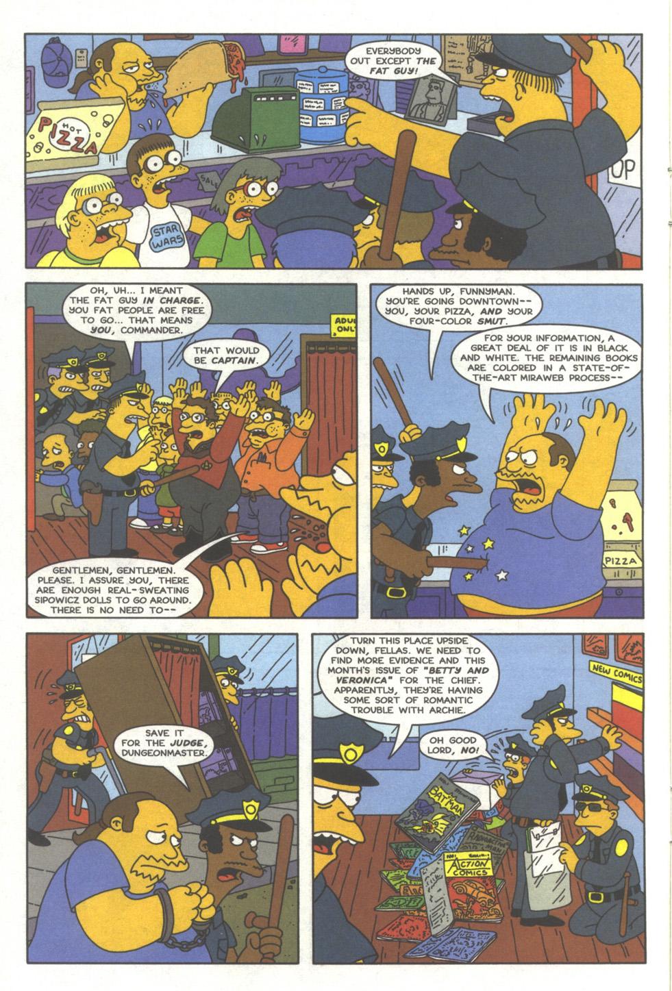 Read online Simpsons Comics comic -  Issue #39 - 11