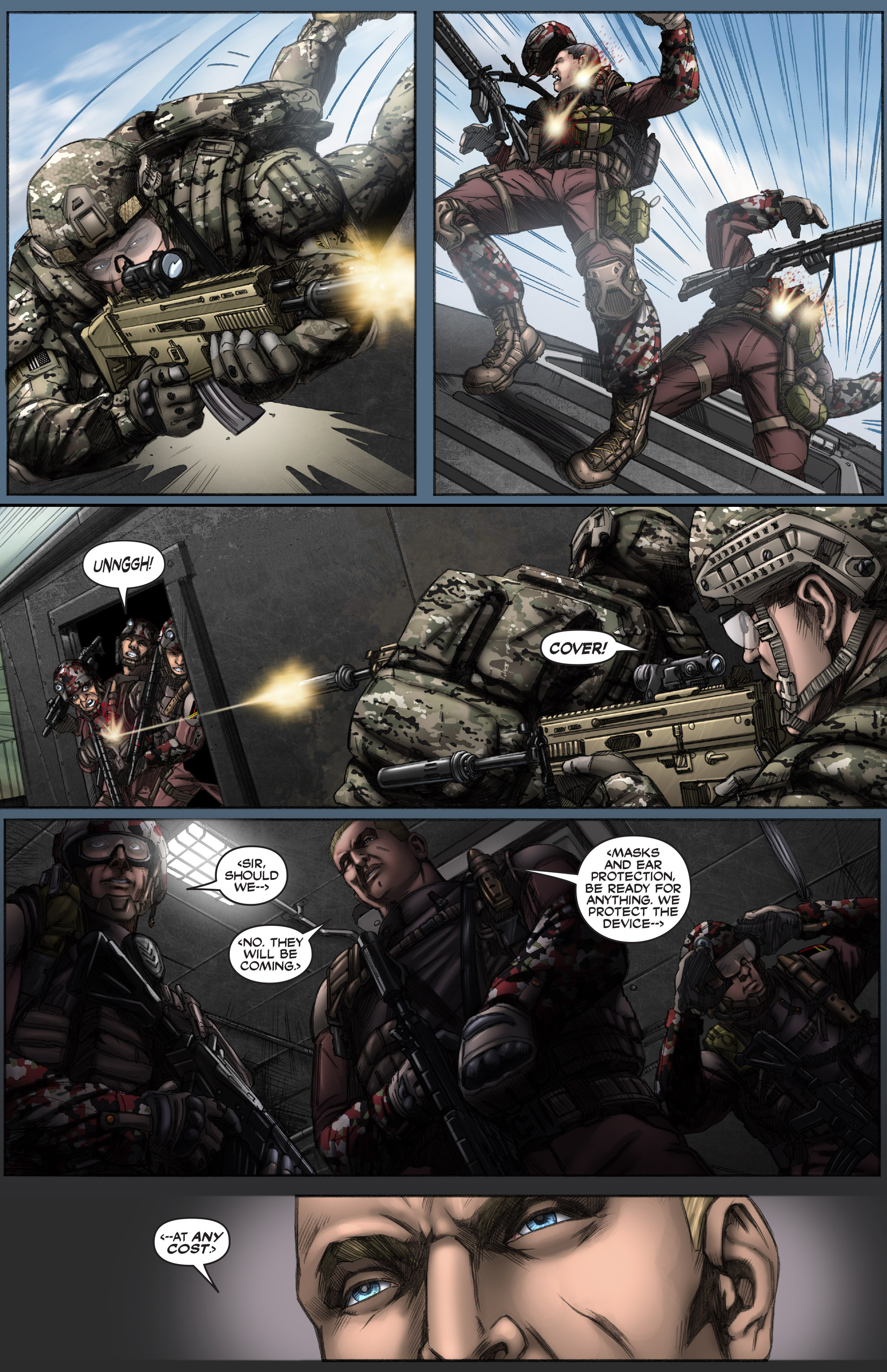 Read online America's Army comic -  Issue #12 - 12
