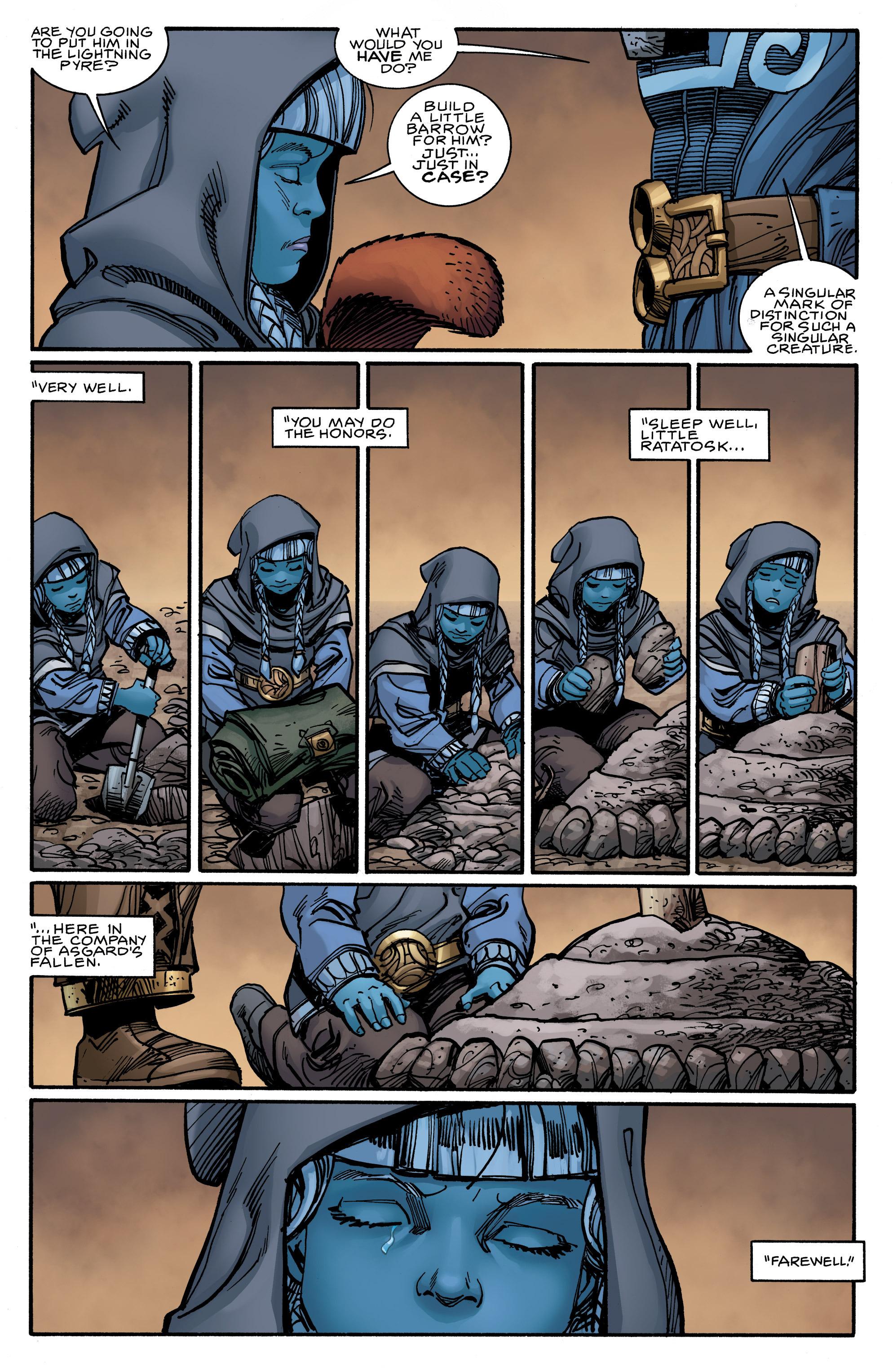 Read online Ragnarok comic -  Issue #9 - 18