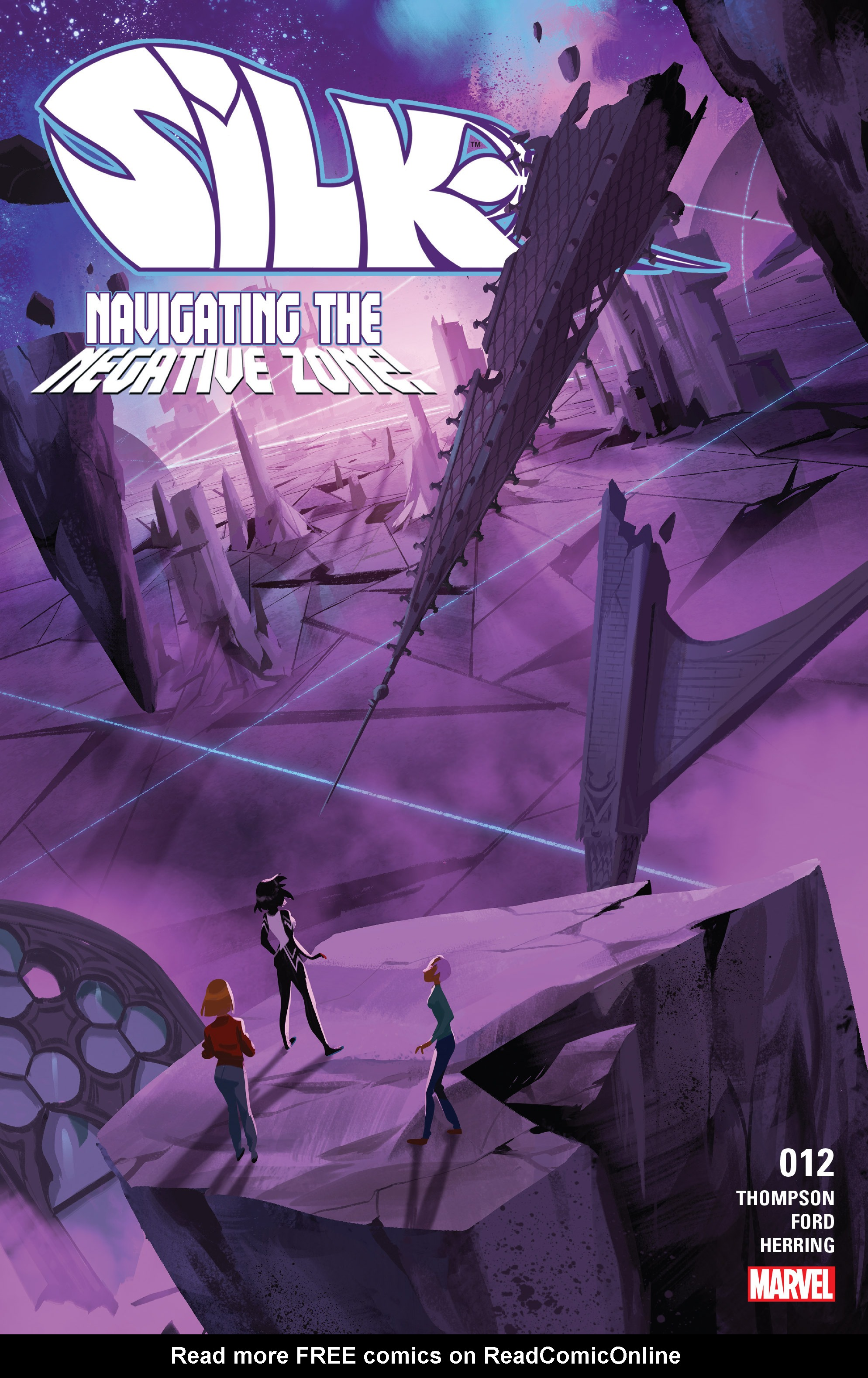 Read online Silk (2016) comic -  Issue #12 - 1