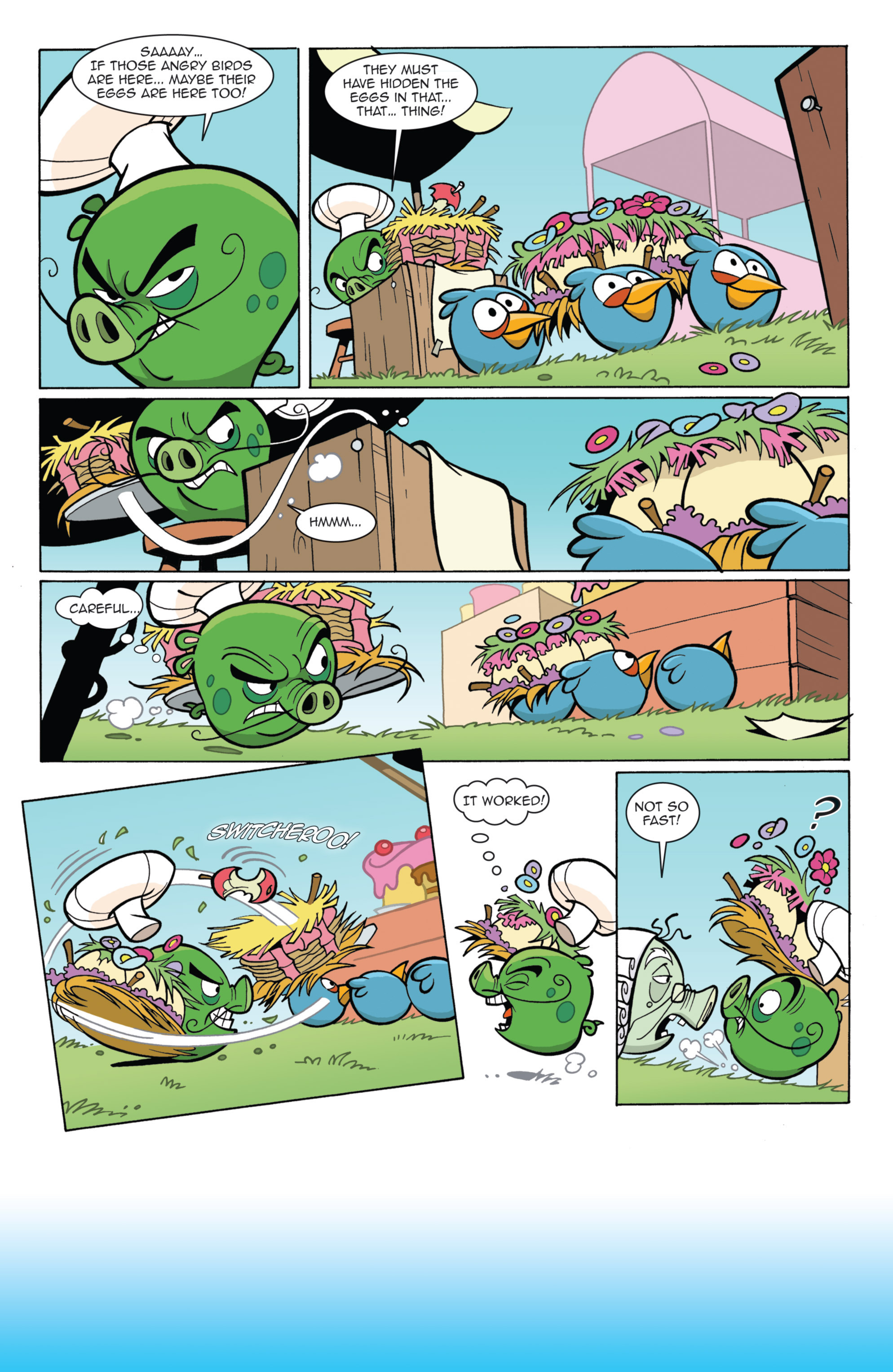 Read online Angry Birds Comics (2014) comic -  Issue #11 - 18