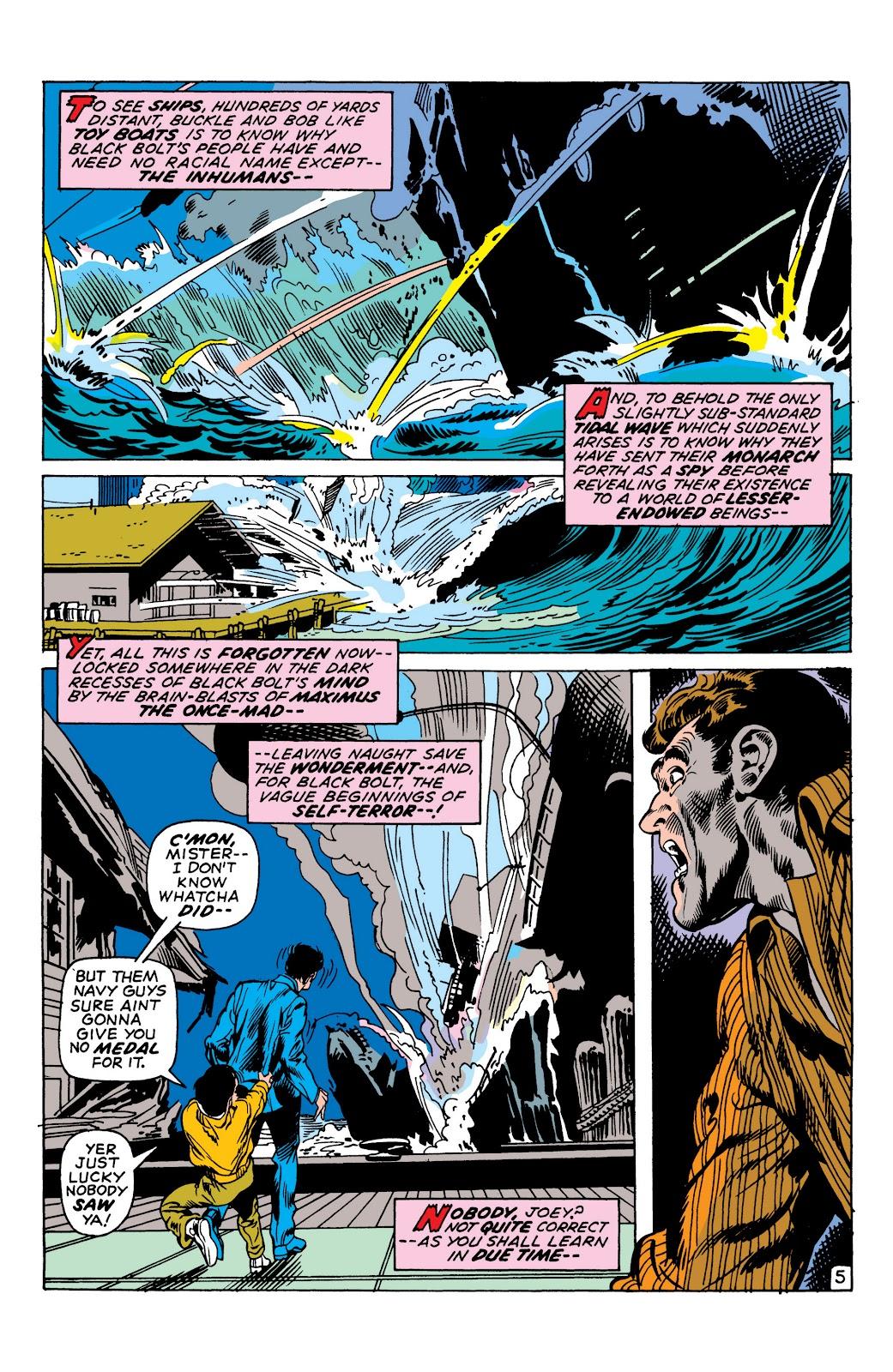 Read online Marvel Masterworks: The Inhumans comic -  Issue # TPB 1 (Part 2) - 29