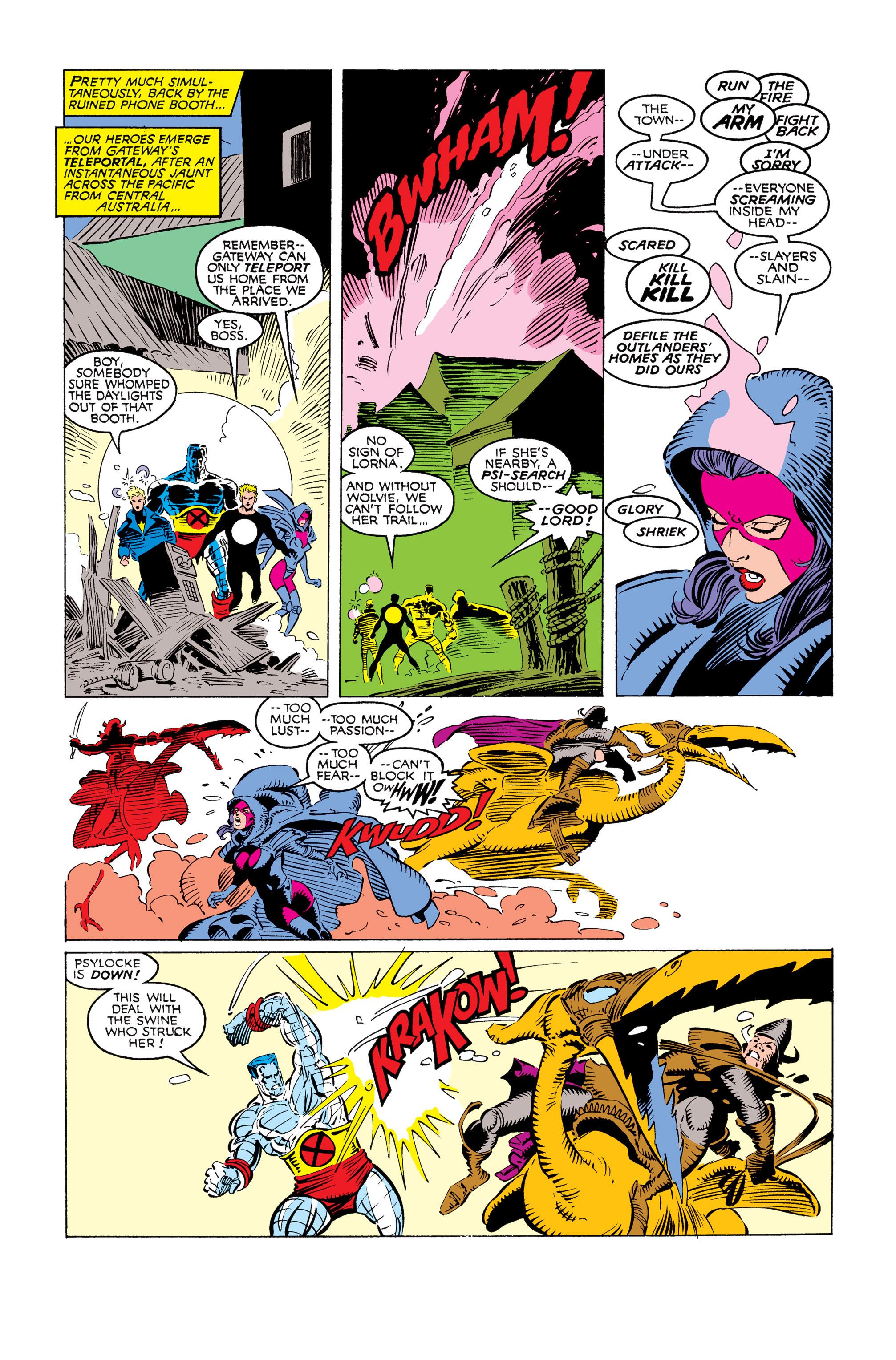 Read online Uncanny X-Men (1963) comic -  Issue #249 - 16