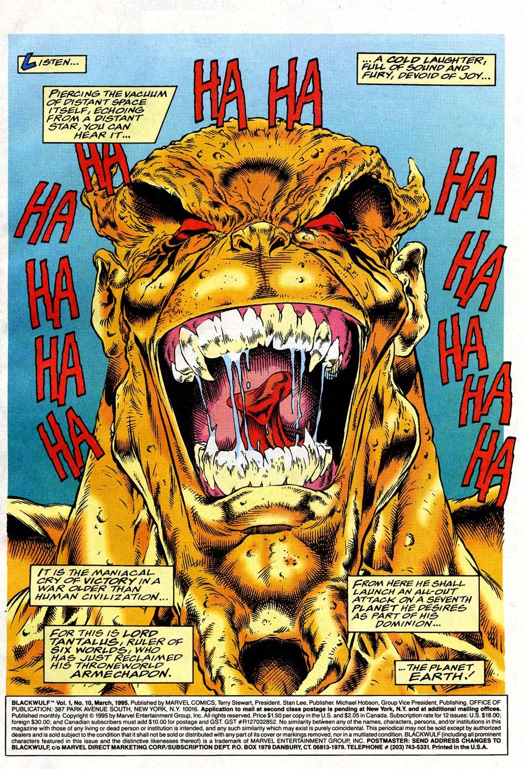 Read online Blackwulf comic -  Issue #10 - 2