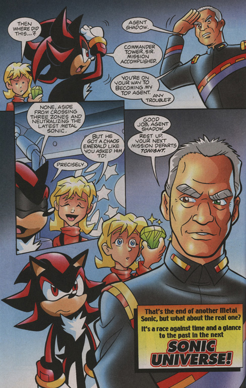 Read online Sonic Universe comic -  Issue #1 - 23