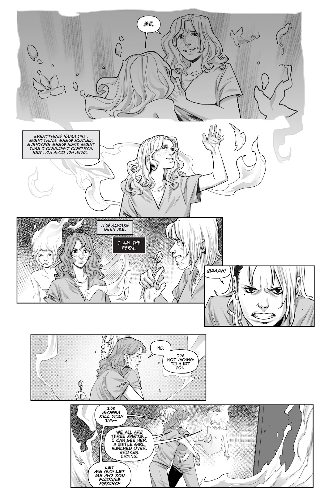 Read online Prison Witch comic -  Issue #3 - 10