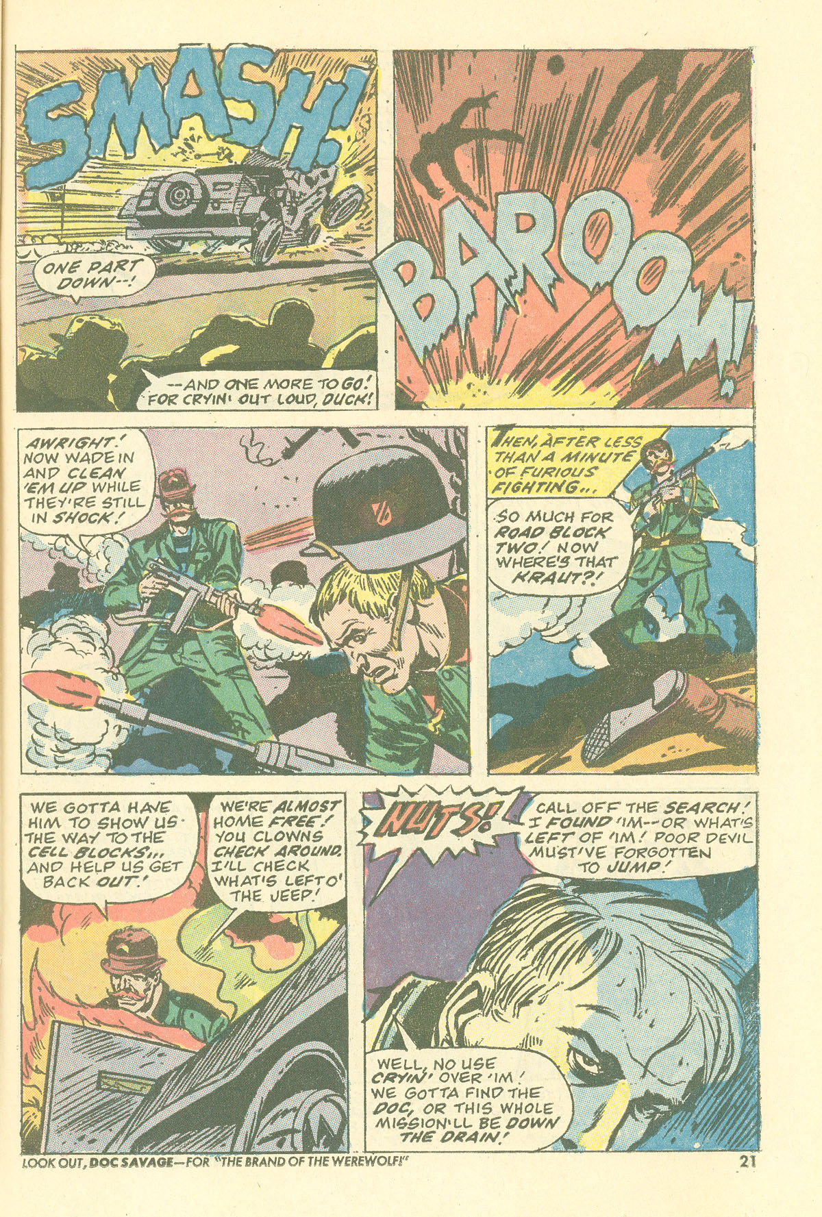 Read online Sgt. Fury comic -  Issue #115 - 23