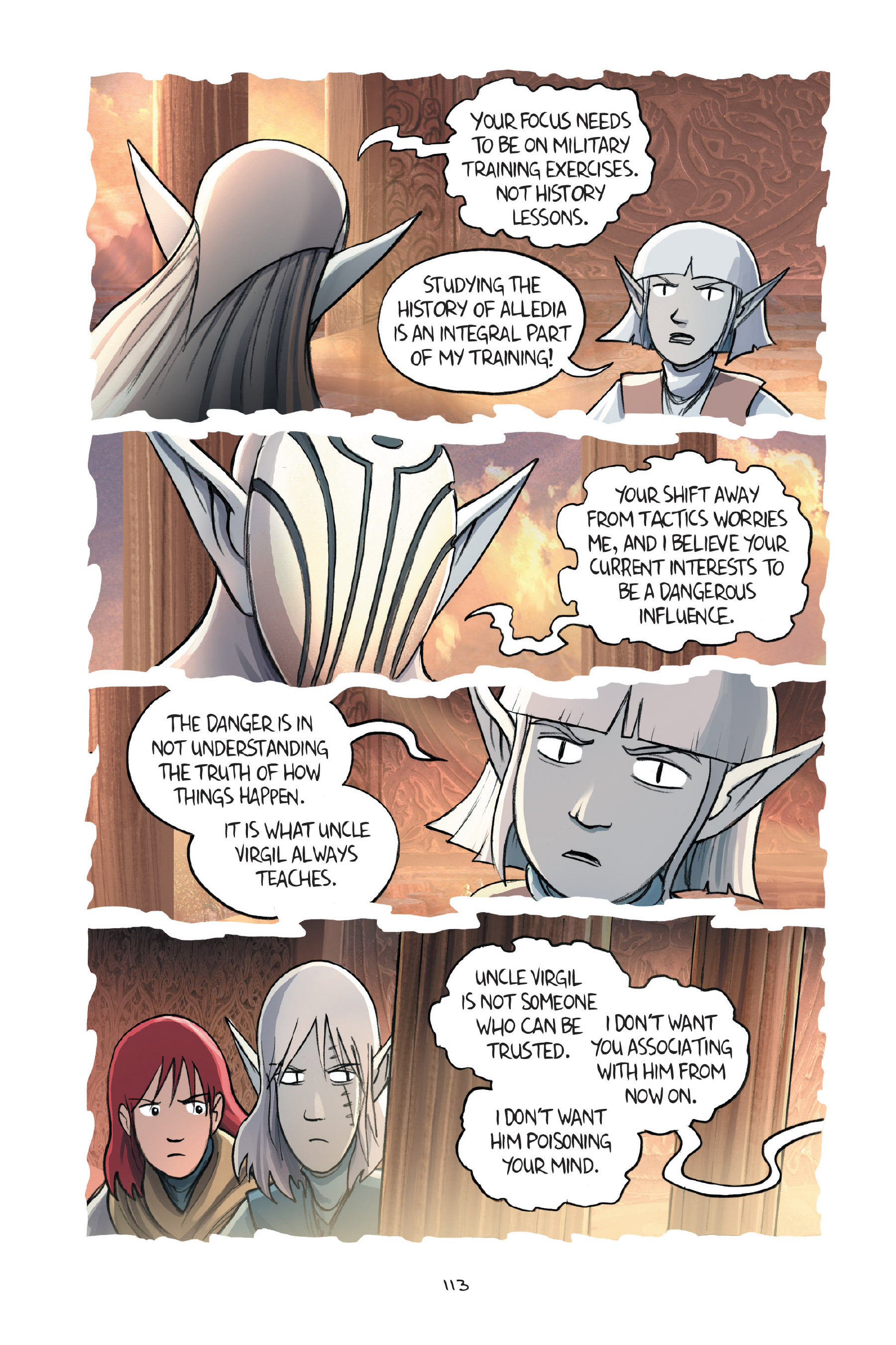 Read online Amulet comic -  Issue #7 - 113