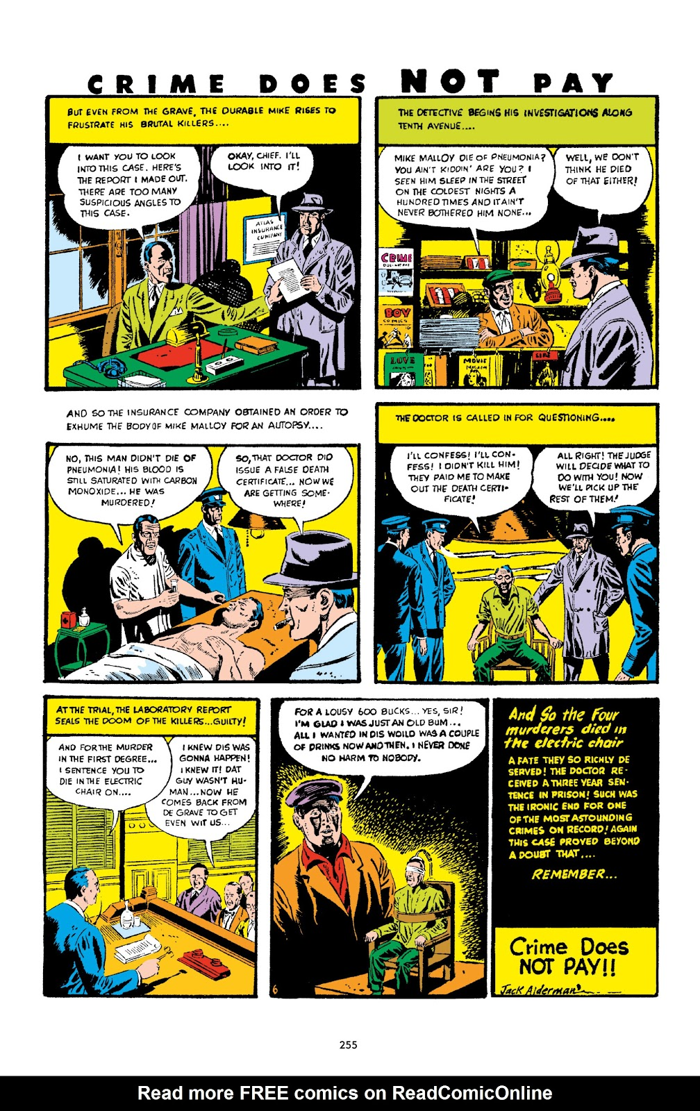 Read online Crime Does Not Pay Archives comic -  Issue # TPB 2 (Part 3) - 55