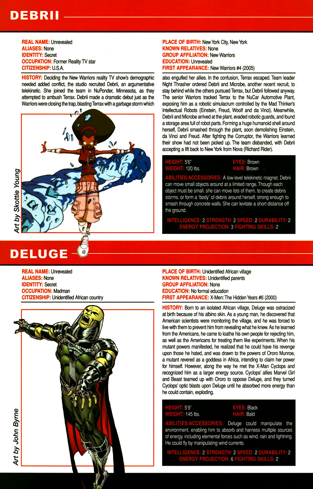 Read online All-New Official Handbook of the Marvel Universe A to Z comic -  Issue #3 - 38