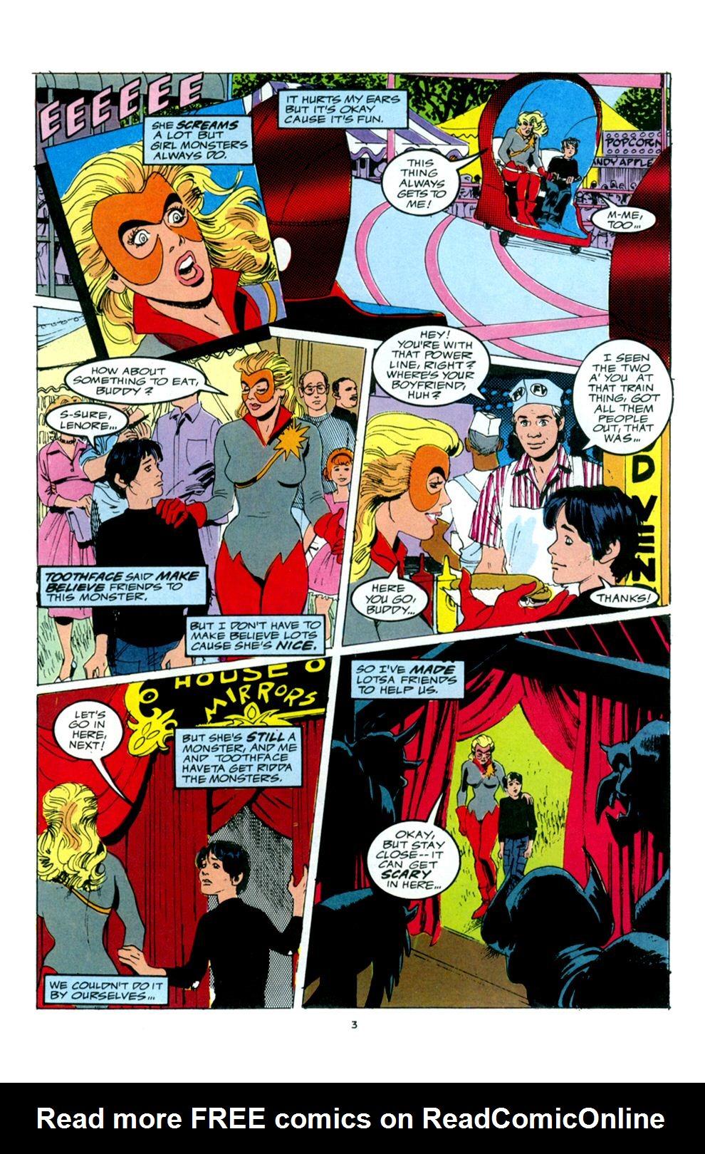 Read online Powerline comic -  Issue #6 - 5