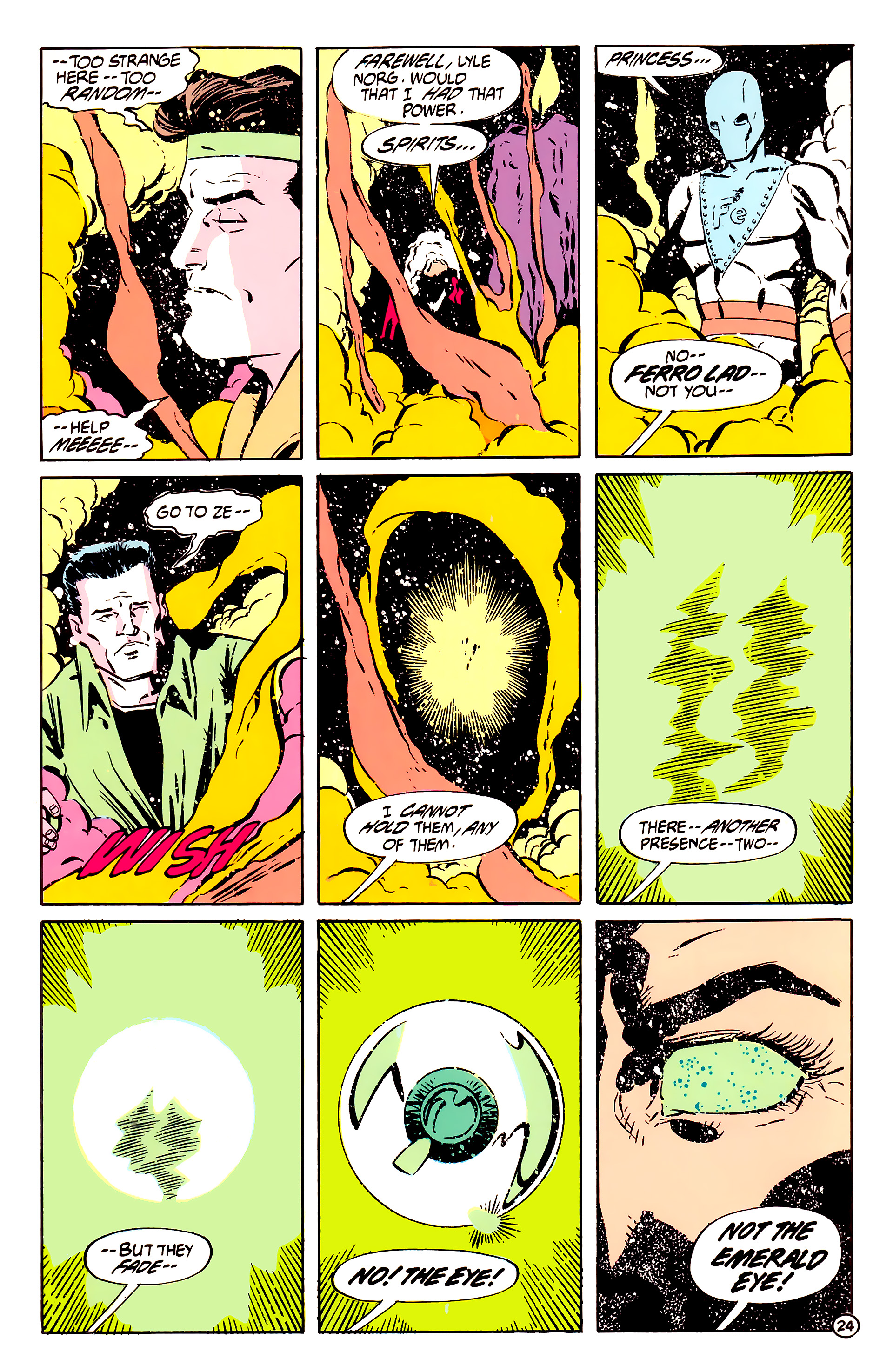 Legion of Super-Heroes (1984) 61 Page 24