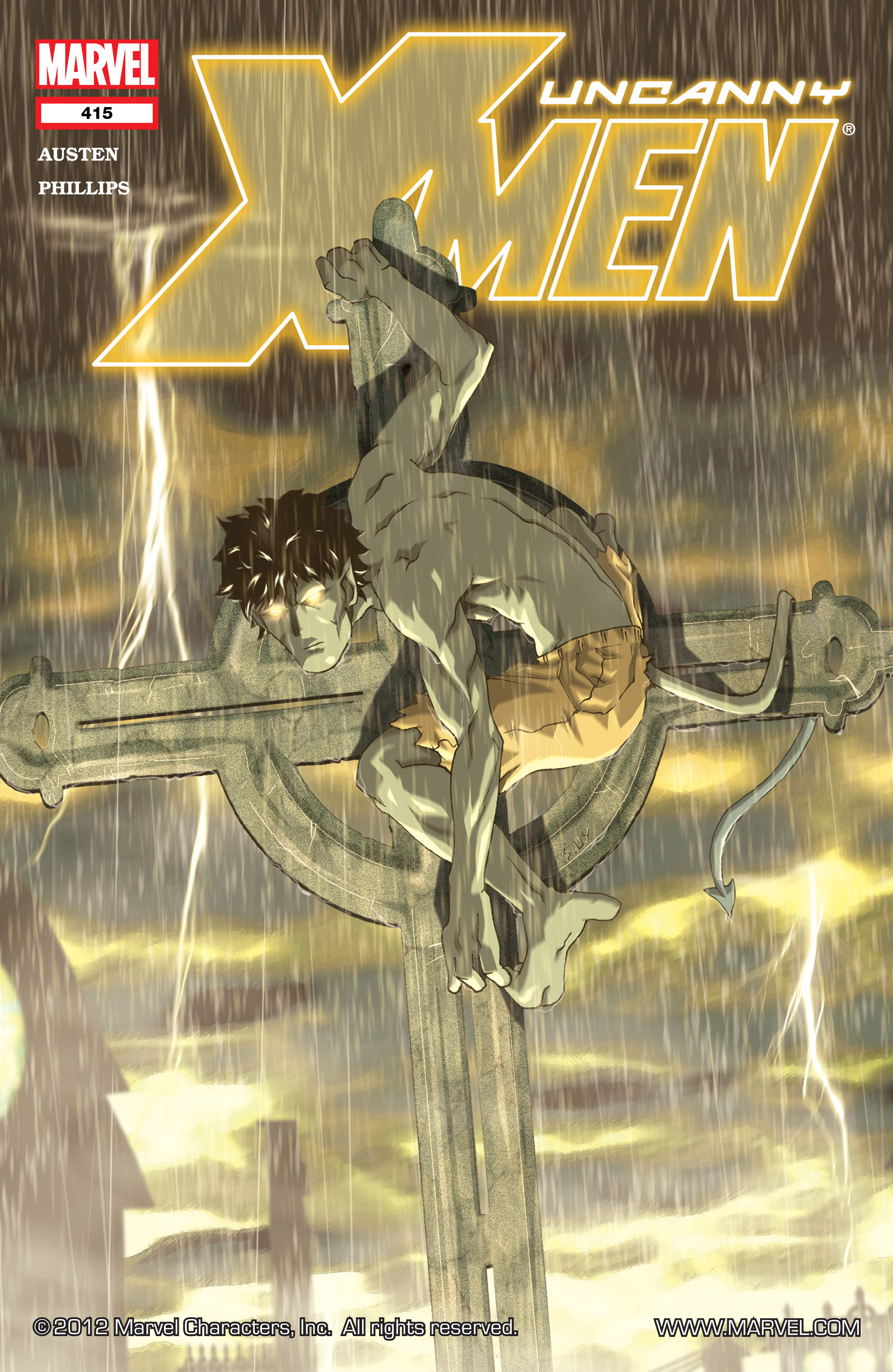 Uncanny X-Men (1963) 415 Page 1