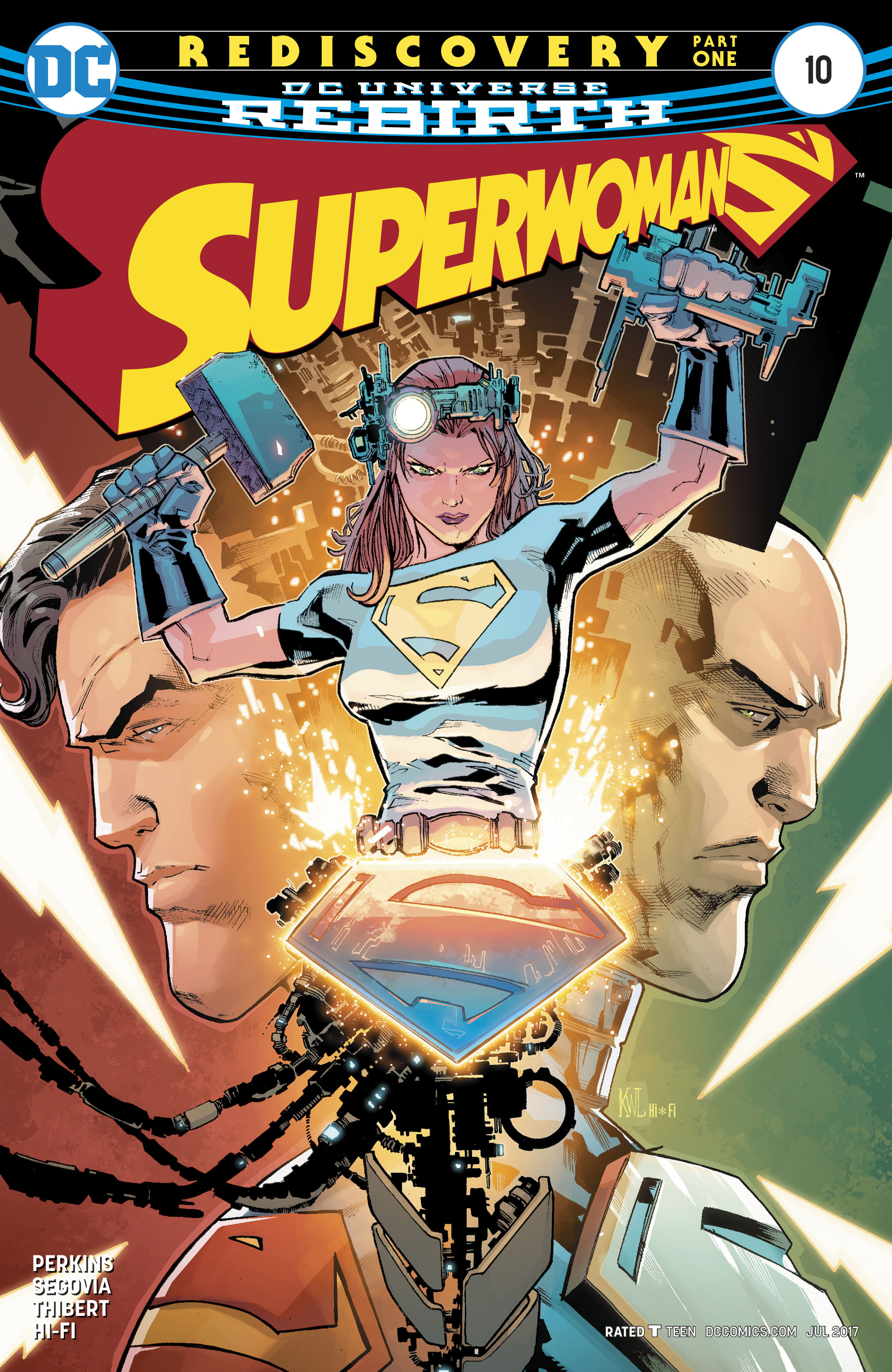 Read online Superwoman comic -  Issue #10 - 1