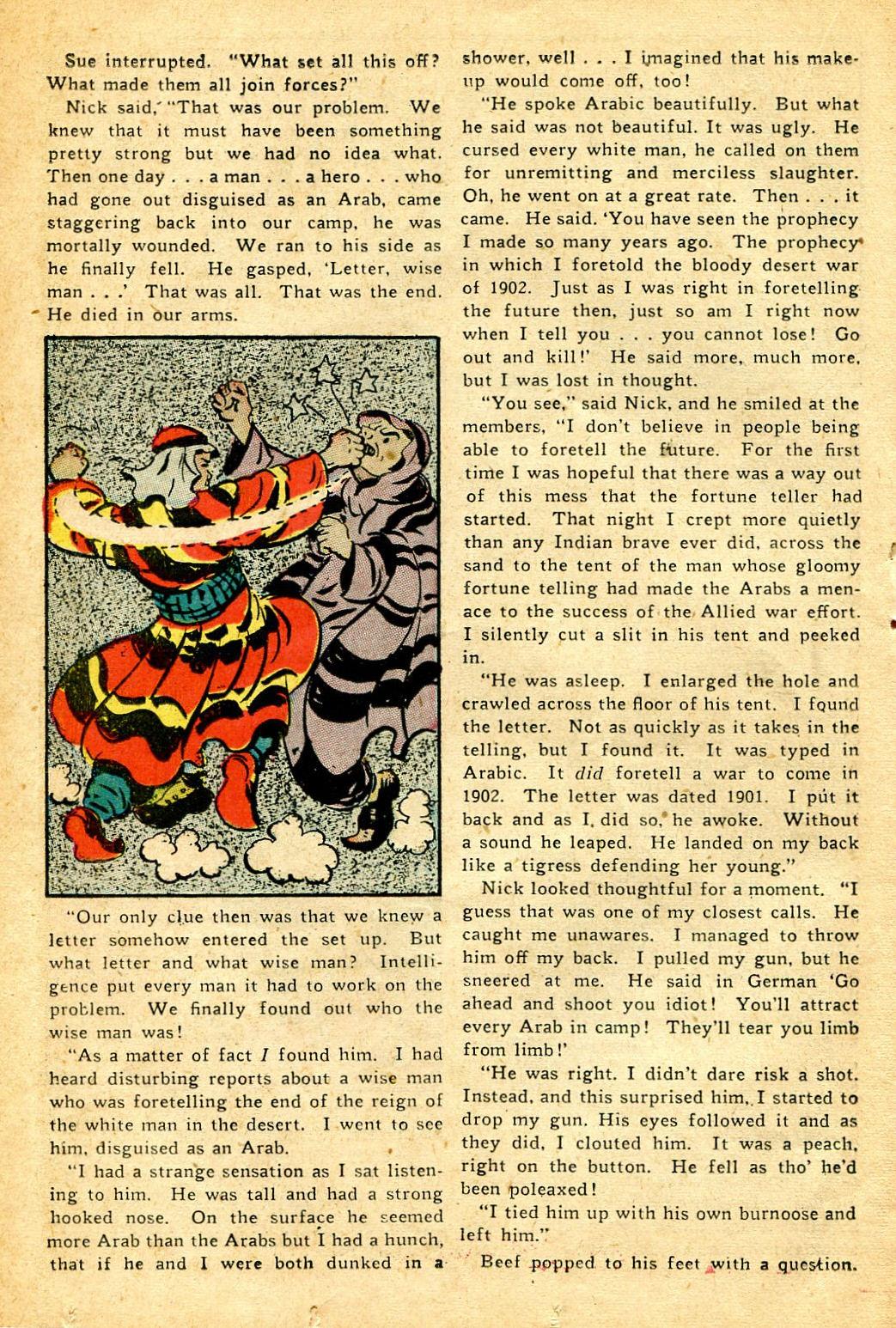 Read online Shadow Comics comic -  Issue #51 - 35