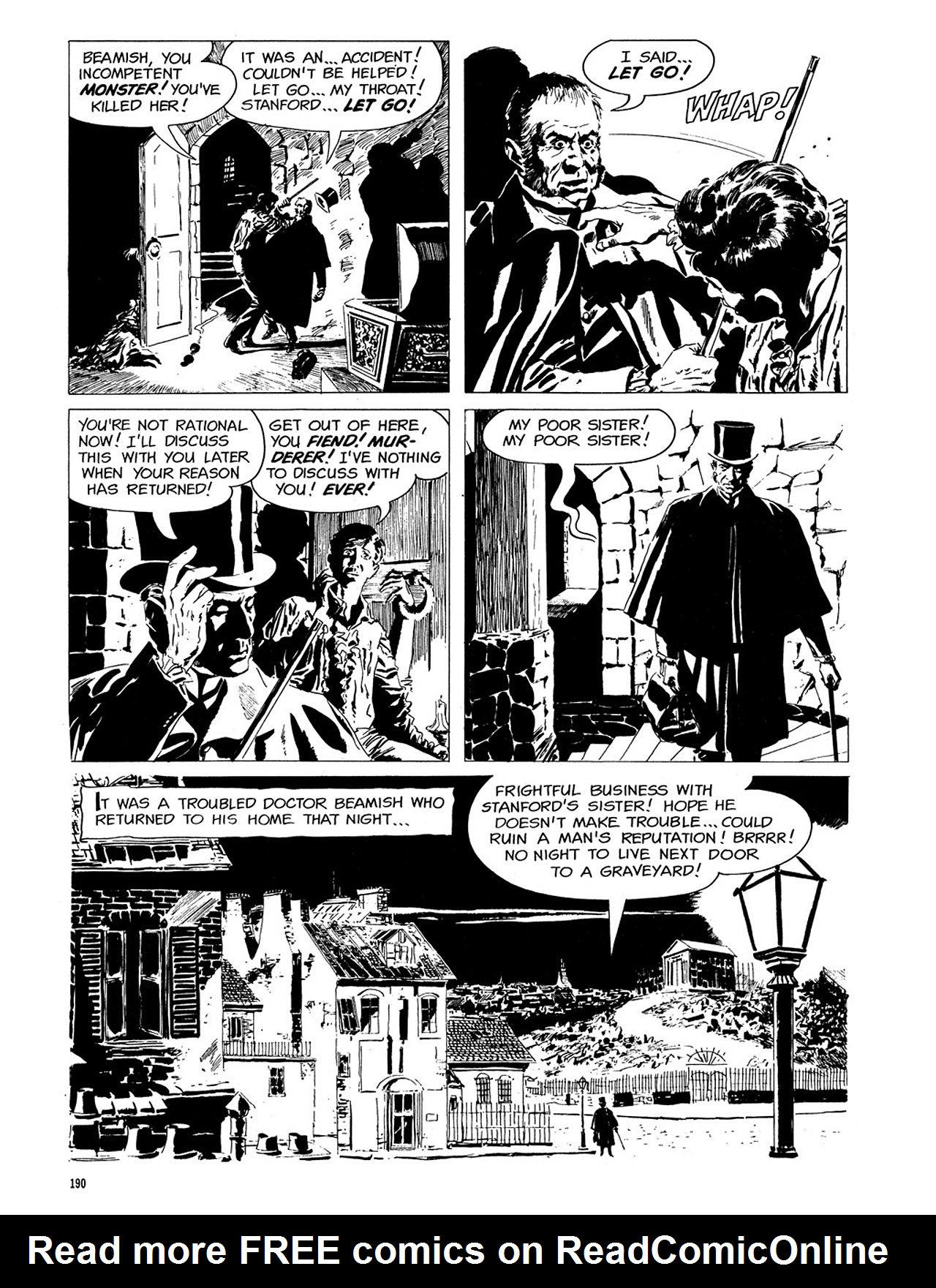 Read online Eerie Archives comic -  Issue # TPB 3 - 191